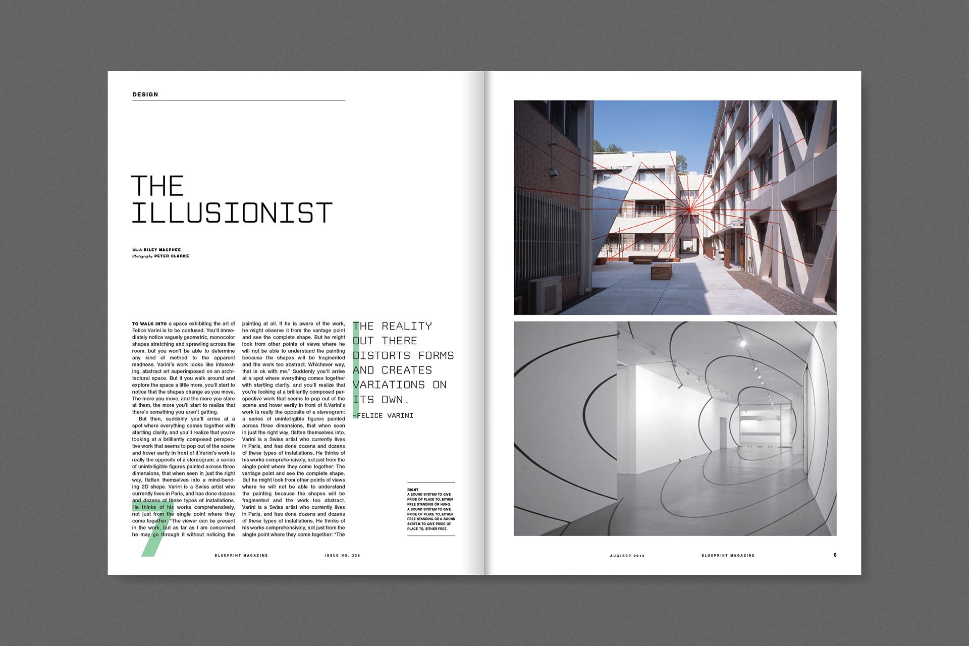 Ben hansen blueprint magazine hypothetical redesign of blueprint magazine a uk based architecture magazine malvernweather Image collections