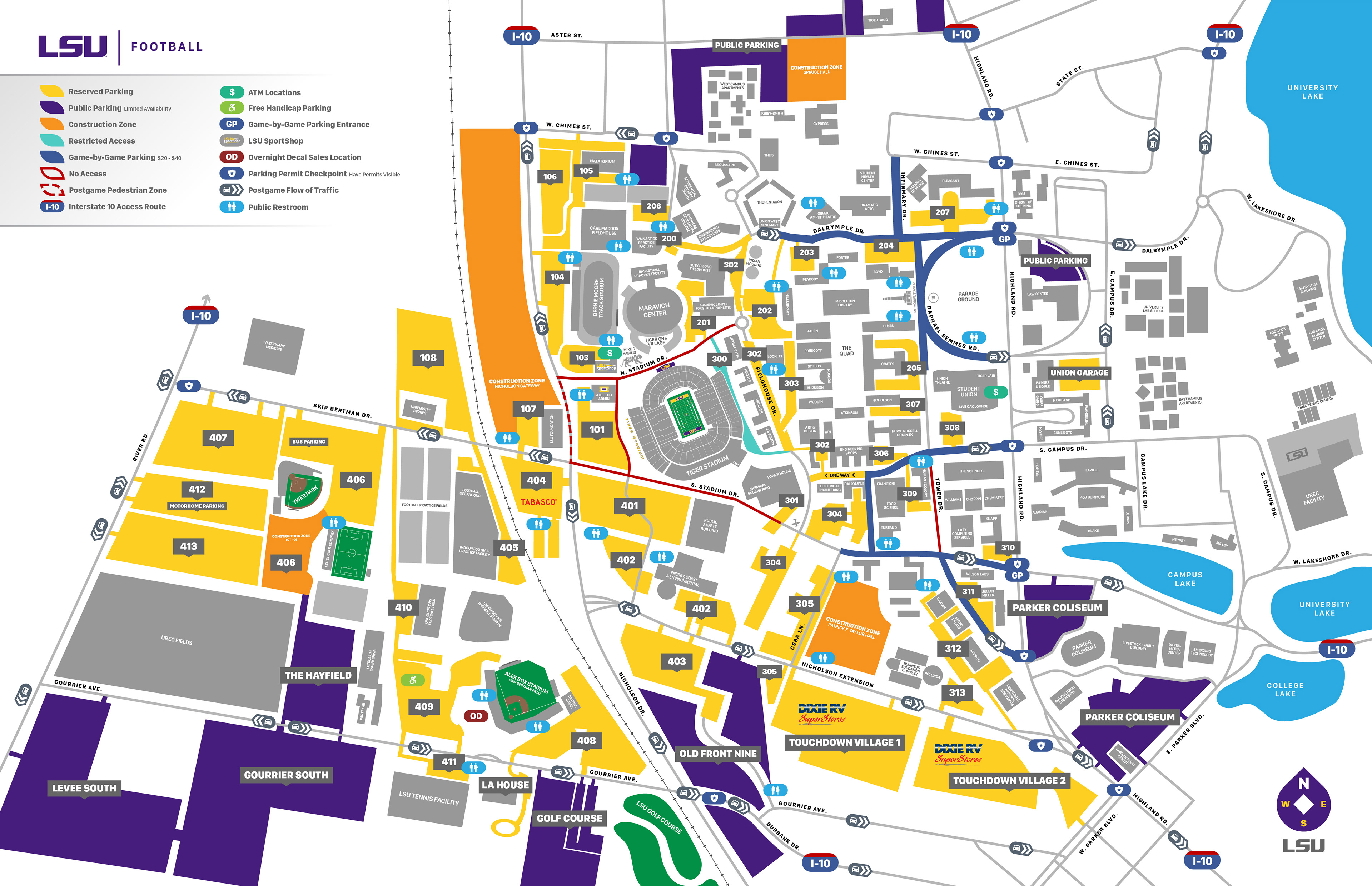 site map lsusportsnet the official web site of lsu - HD 3000×1941