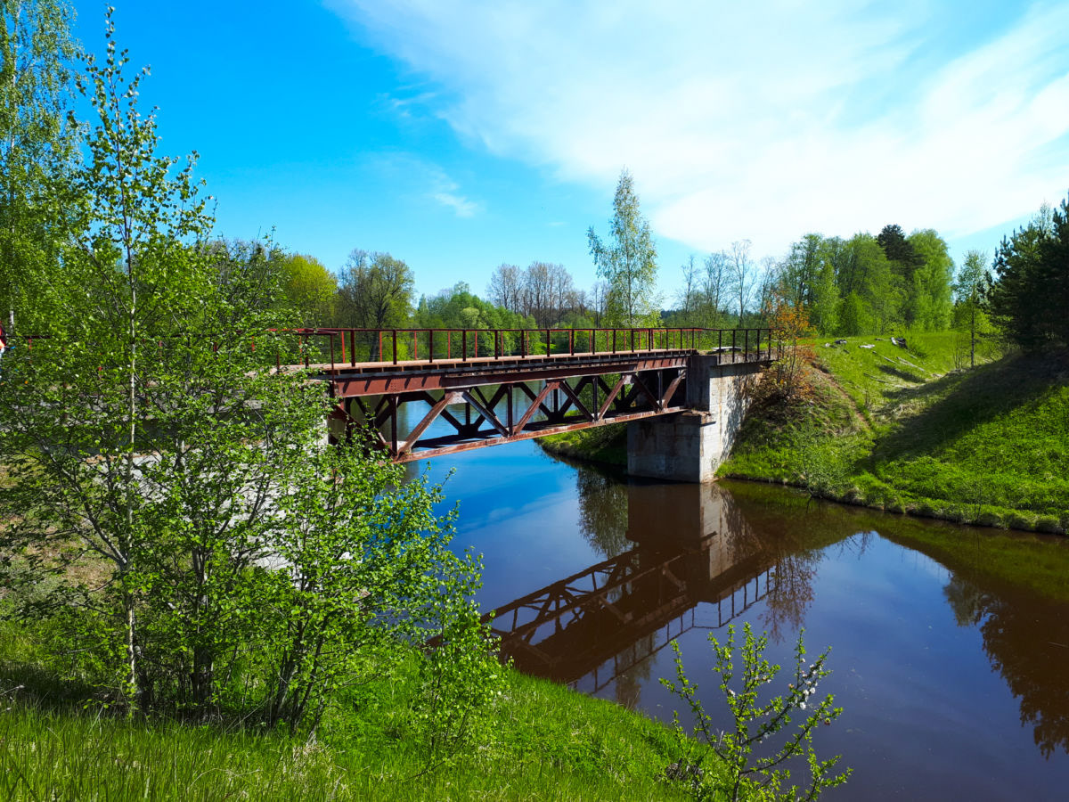 Tilts pār Tirzas upi, Foto: Visitgulbene.lv