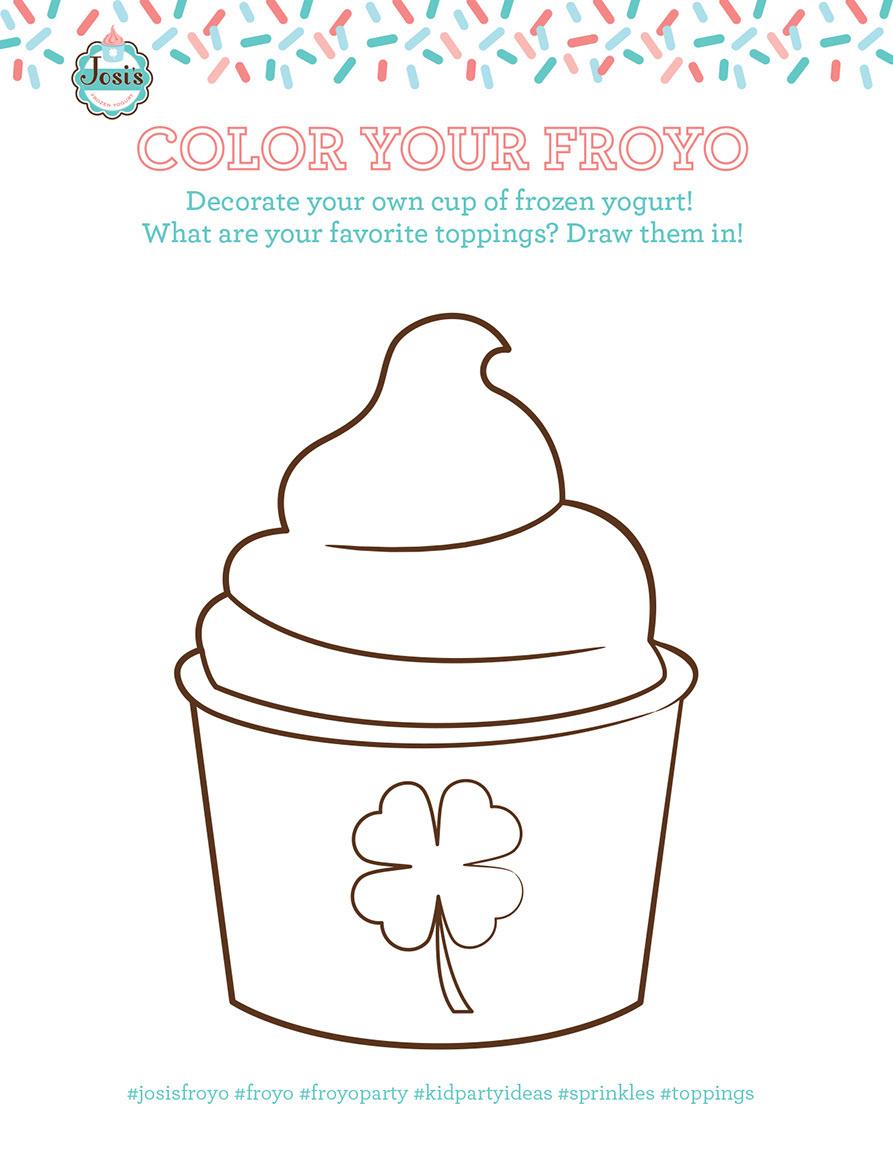 Frozen Yogurt Social Media Party Package