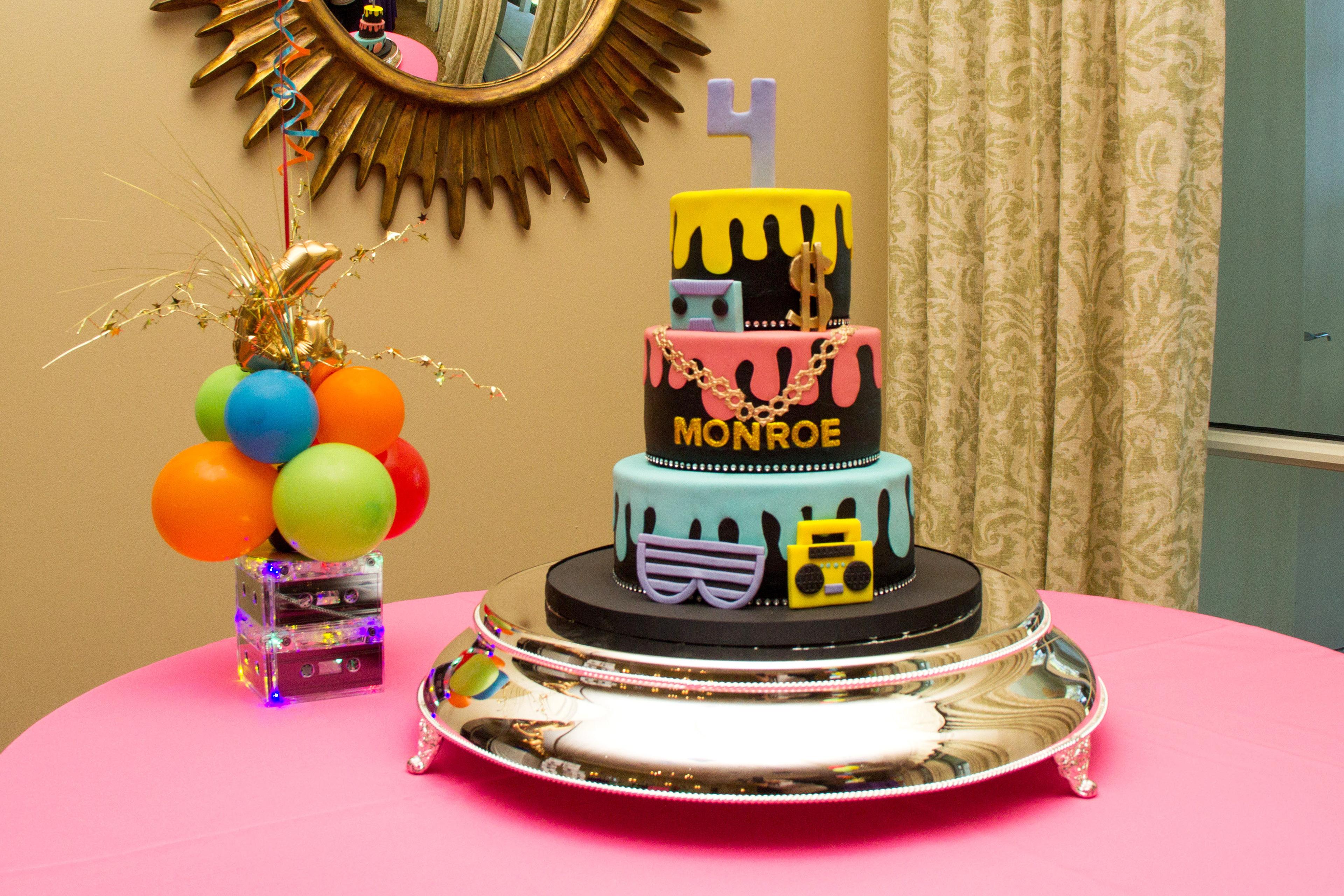 Excellent Juliana Zuccarini Monroes Hip Hop Birthday Party Funny Birthday Cards Online Inifodamsfinfo