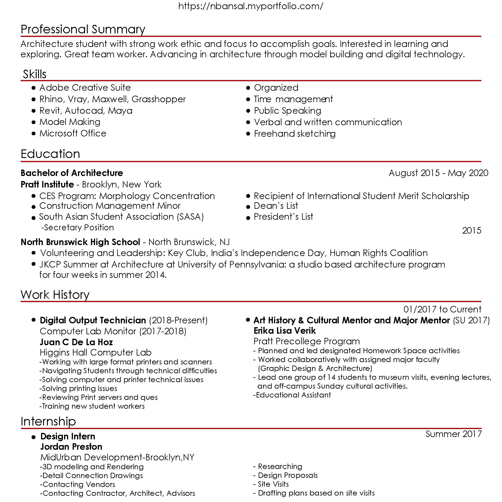 Naini Bansal - Information