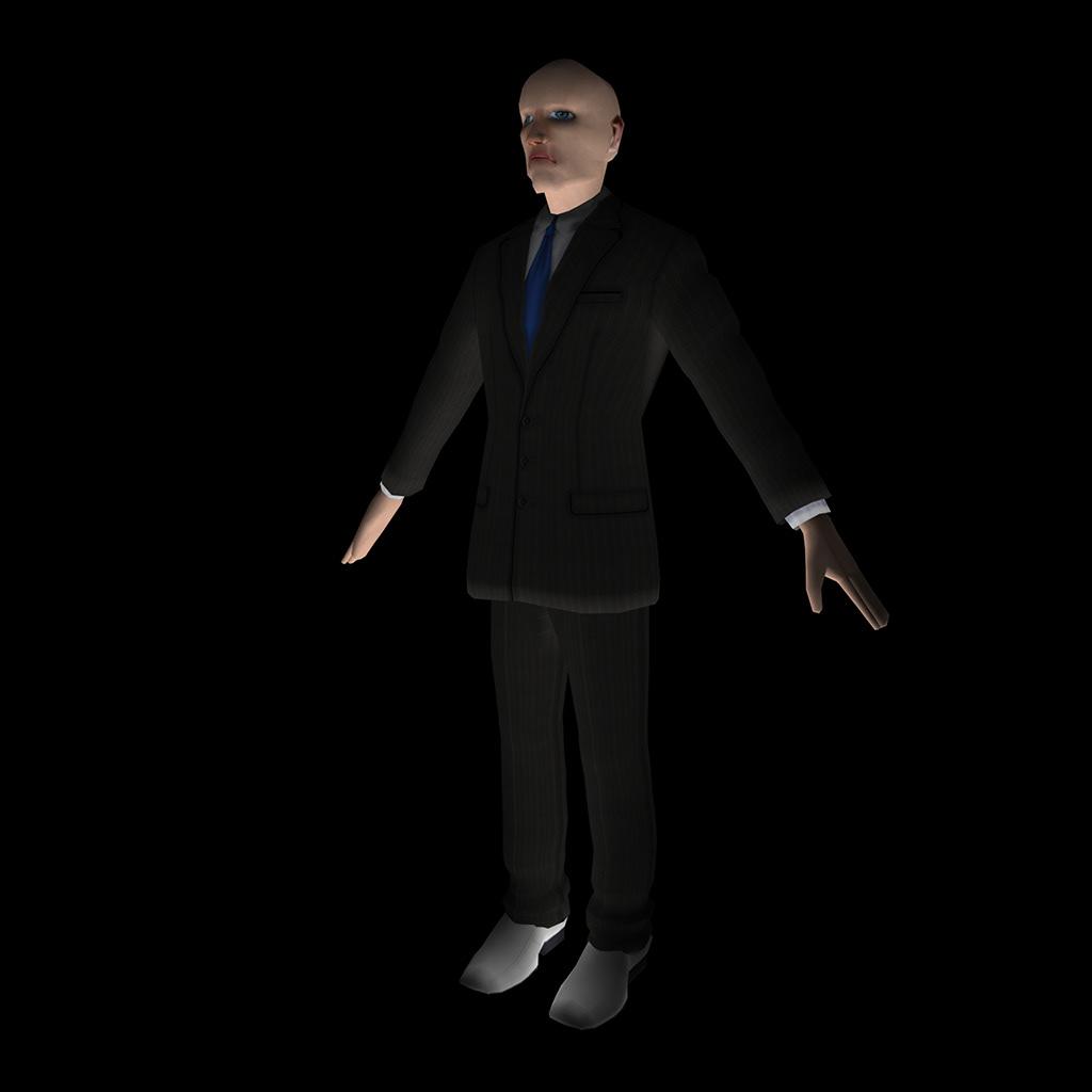 Samuel Adams Vastine - Low-Poly 3D Character Model & Basic