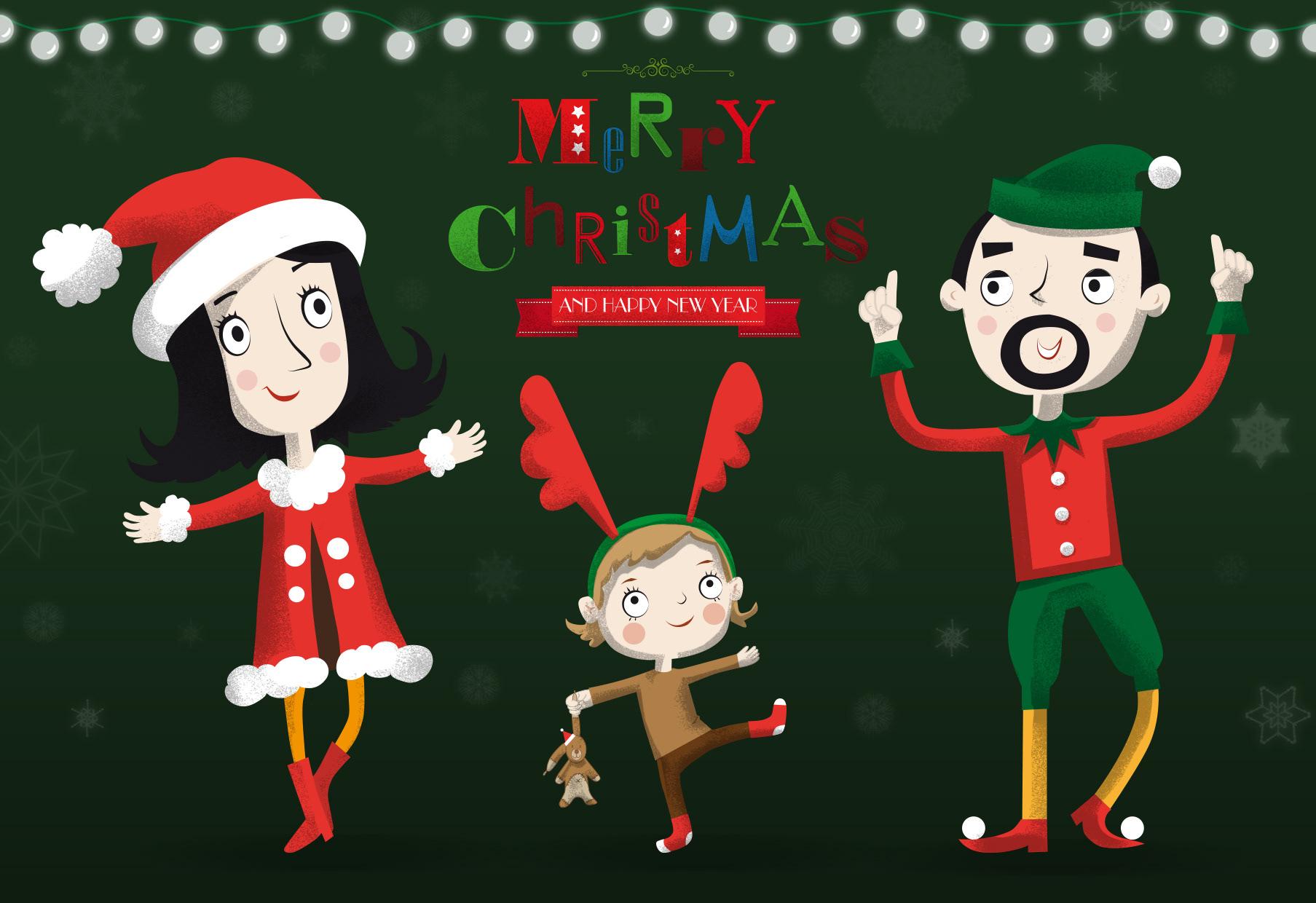 Janka Tamara Christmas Card