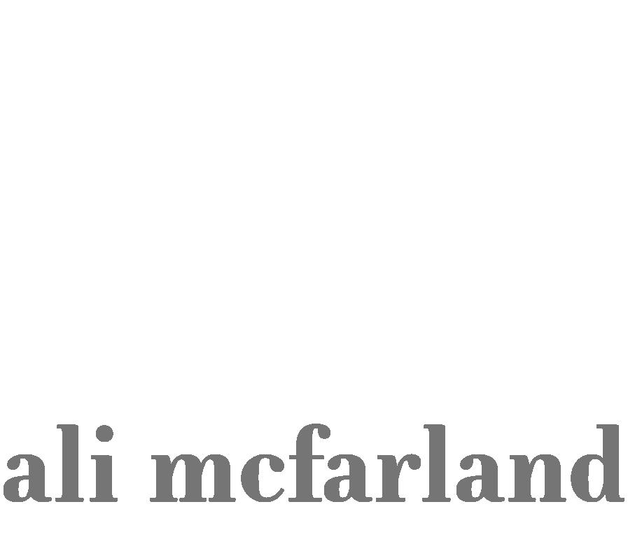 Ali McFarland
