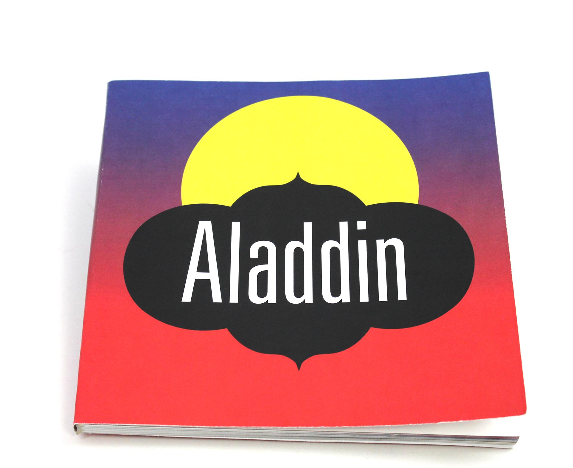aladdin script book