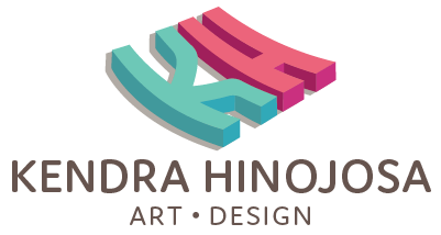 Kendra Hinojosa - designer + illustrator