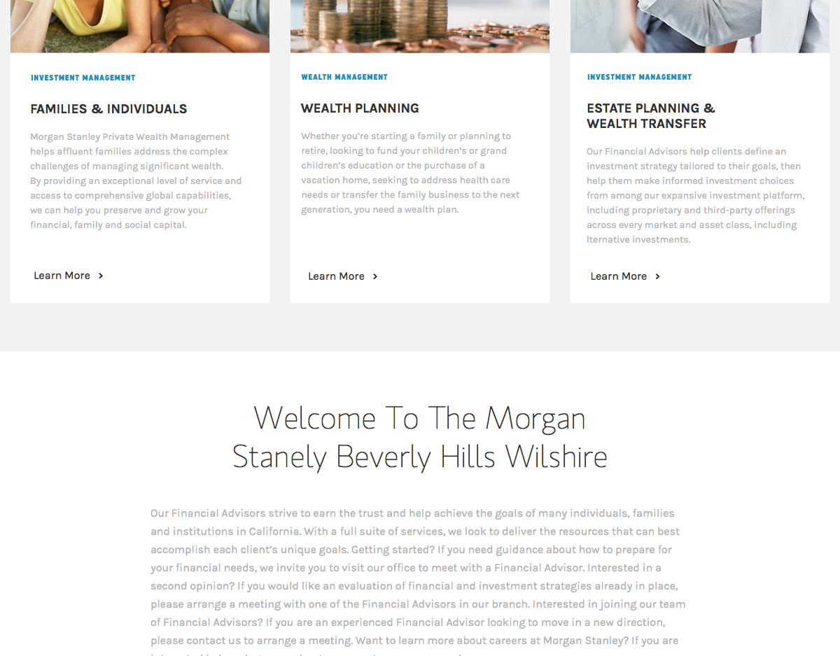 wight goforth - Morgan Stanley