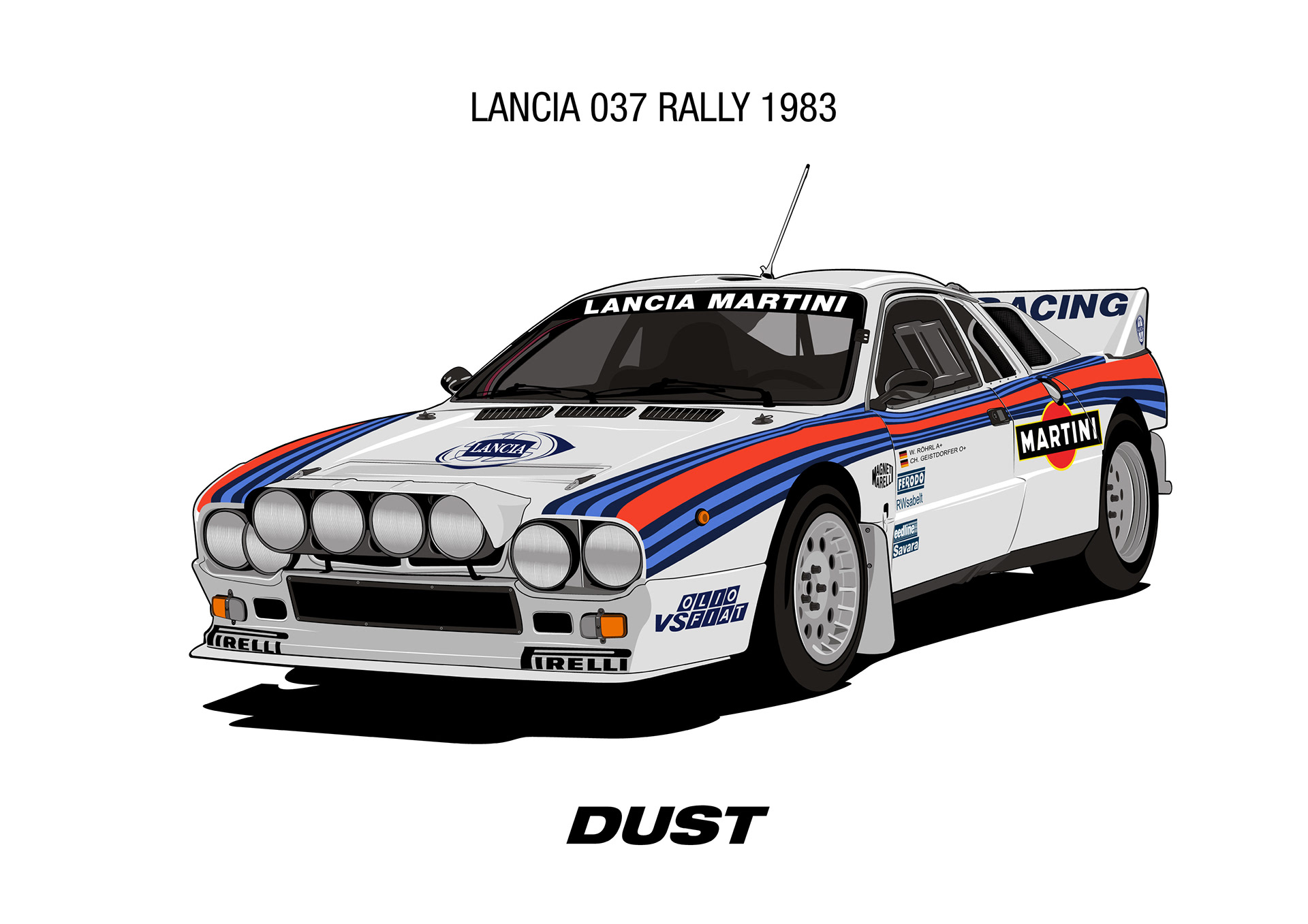 Dust Lancia 037 Rally