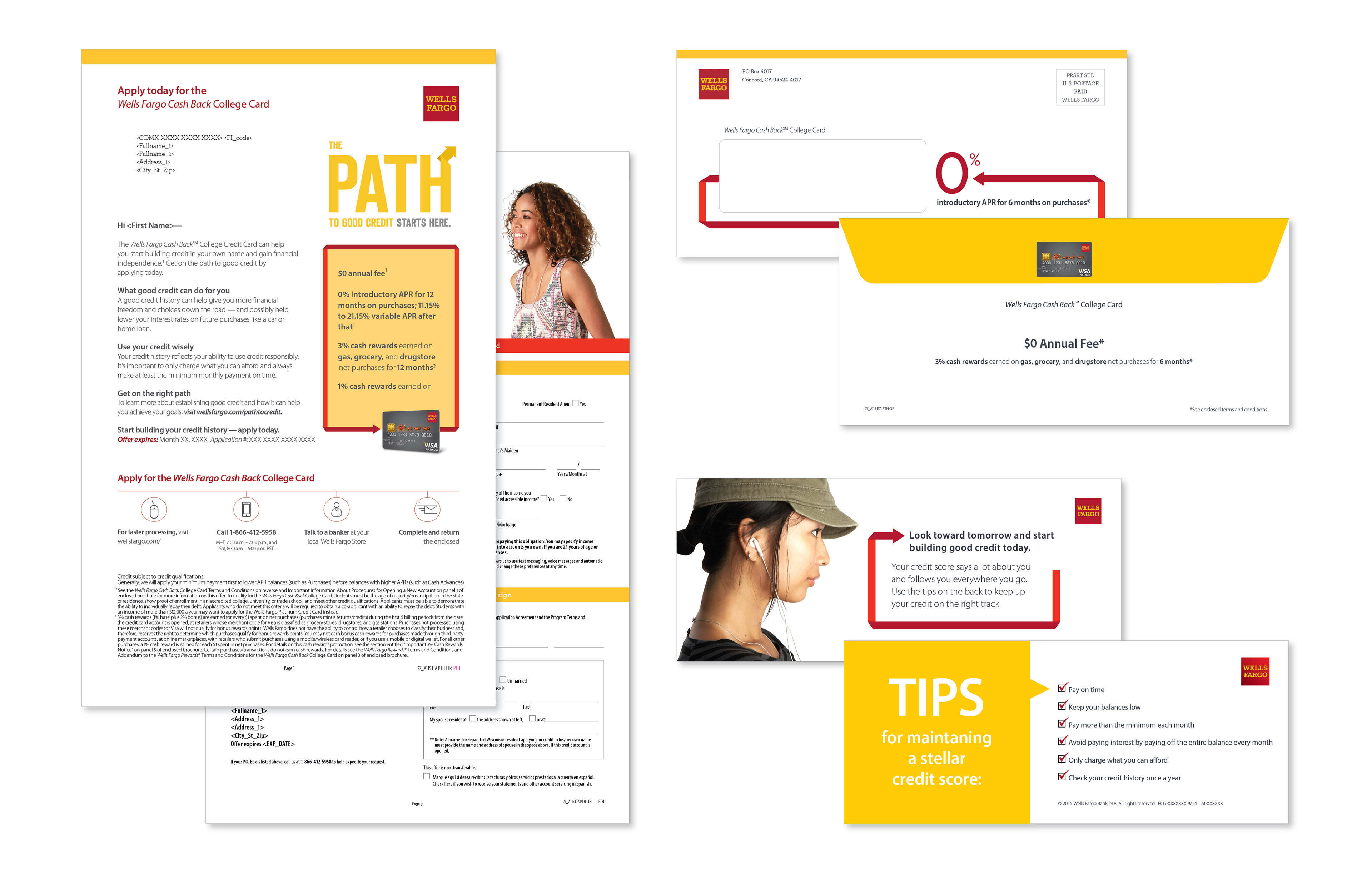 Phil Railey - Wells Fargo Credit Card DM Packages