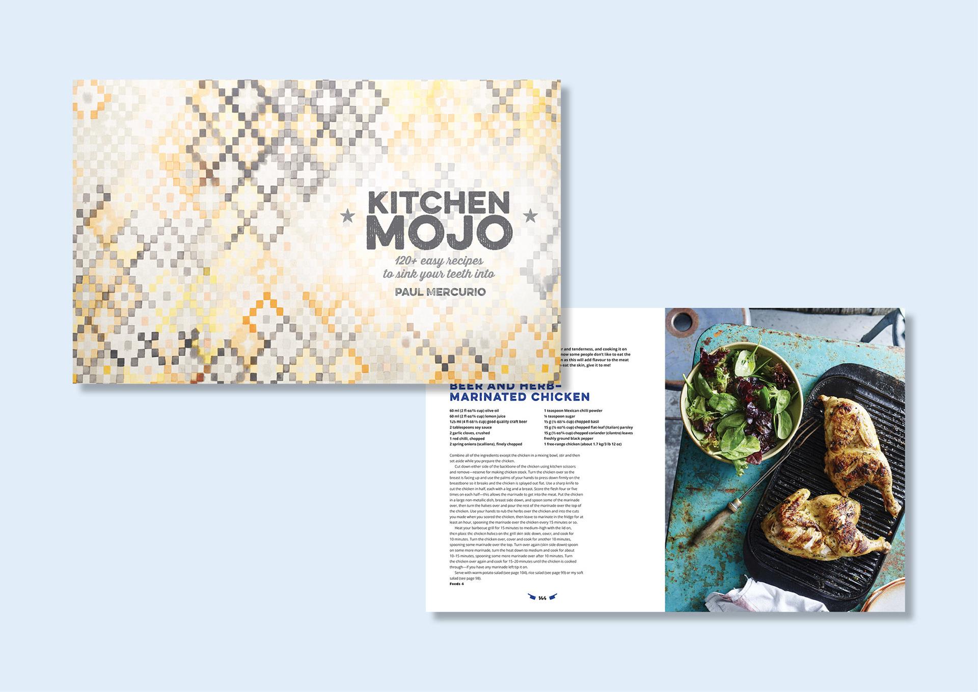 Justin Thomas Design - Paul Mercurio - Kitchen Mojo Cookbook