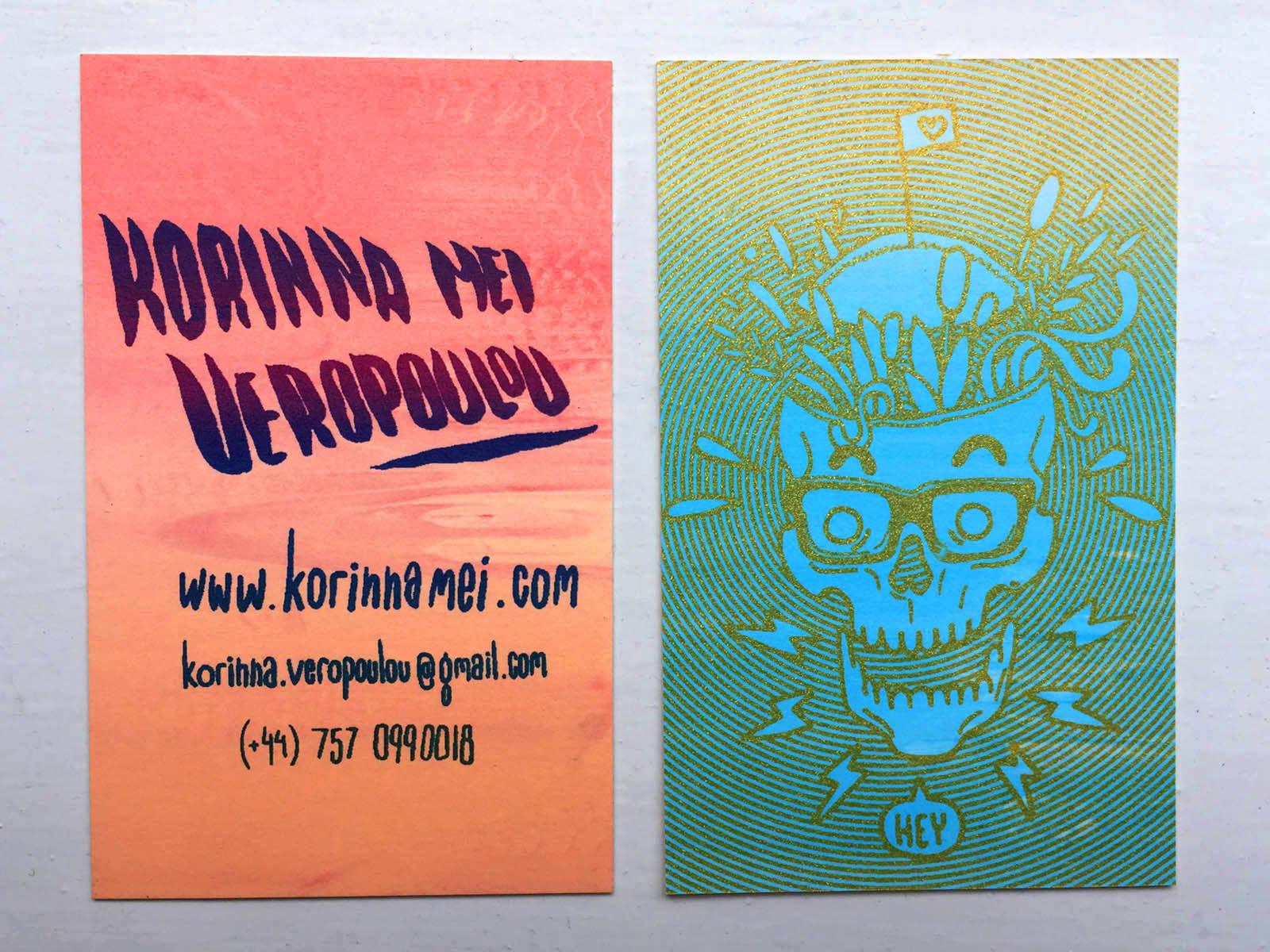 korinna veropoulou - Random Business Cards