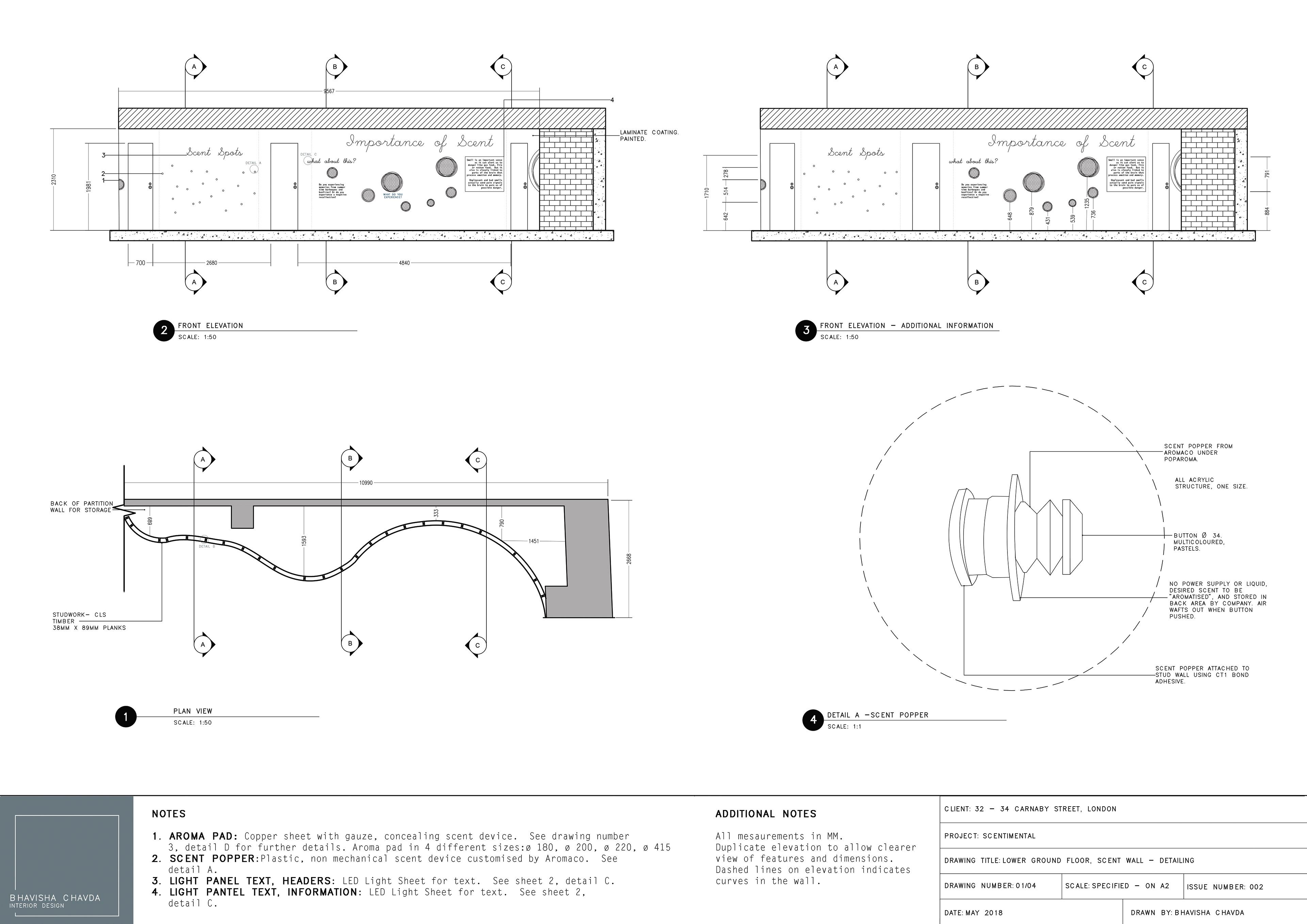 bhavisha chavda technical drawings and models