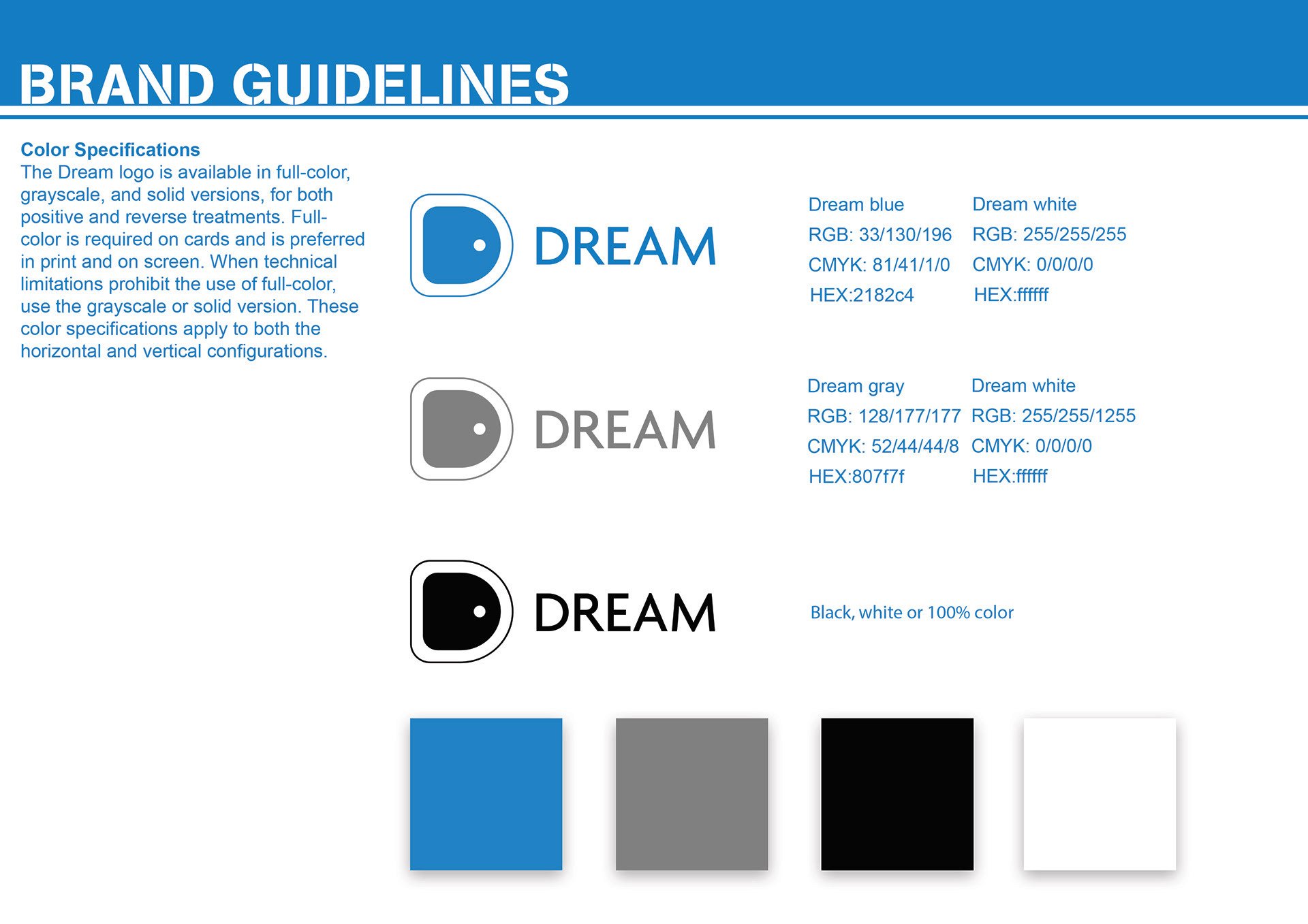 design portfolio kai sun design dream box brand guidelines