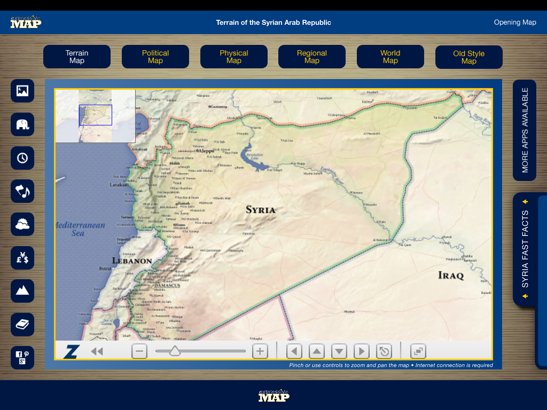 Eric olason mapmaker cartographic artist app syria i have since made a decision to no longer work creating apps in favor of making oversize wall maps for business home and office under the same brand name gumiabroncs Images