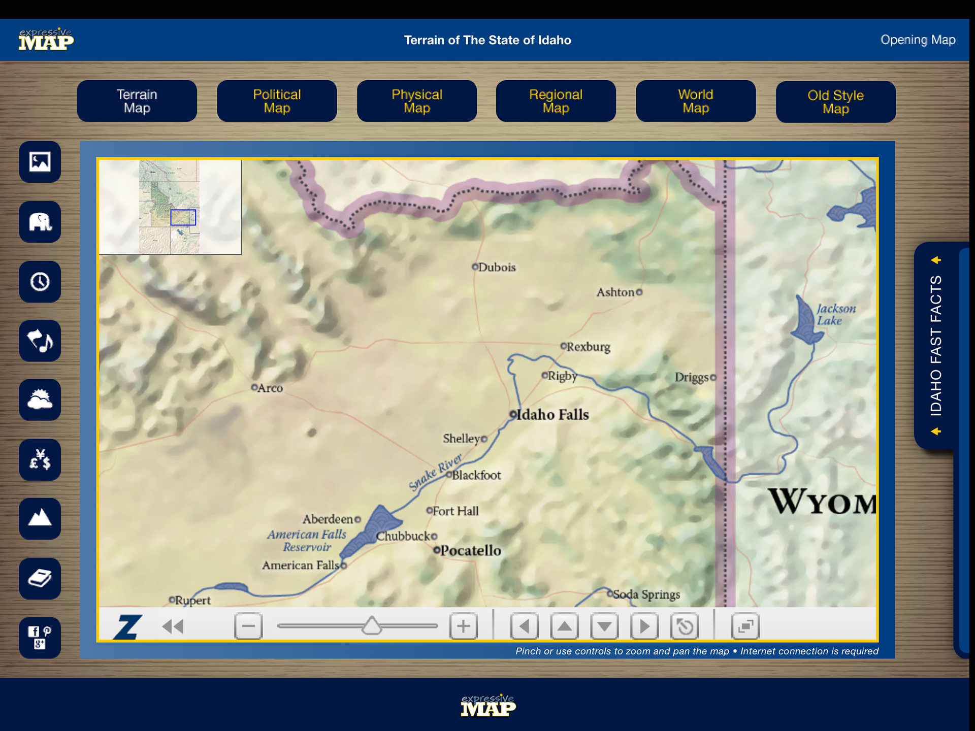 Eric olason mapmaker cartographic artist app idaho i have since made a decision to no longer work creating apps in favor of making oversize wall maps for business home and office under the same brand name gumiabroncs Image collections