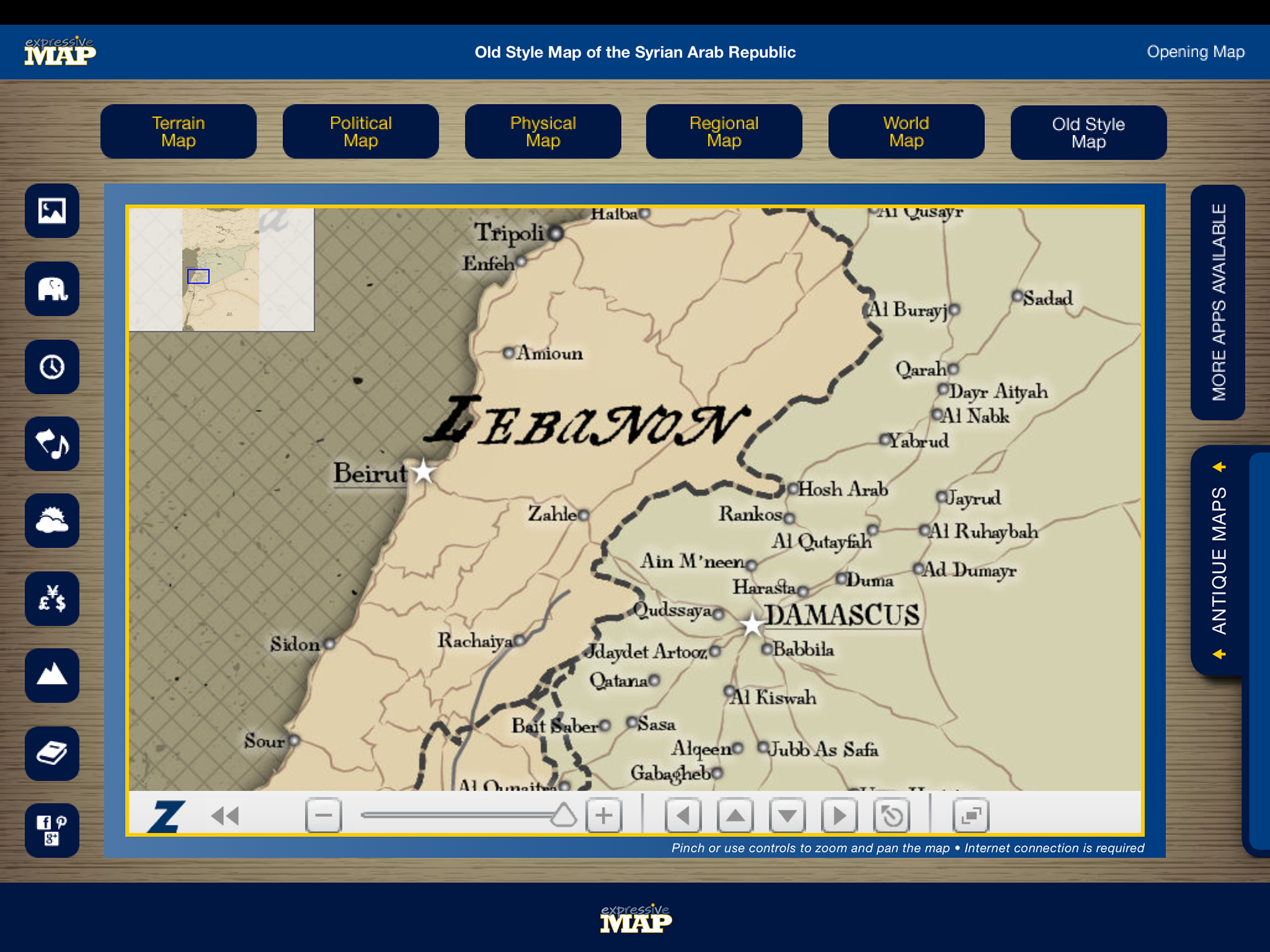 Eric olason mapmaker cartographic artist app syria i have since made a decision to no longer work creating apps in favor of making oversize wall maps for business home and office under the same brand name gumiabroncs Image collections