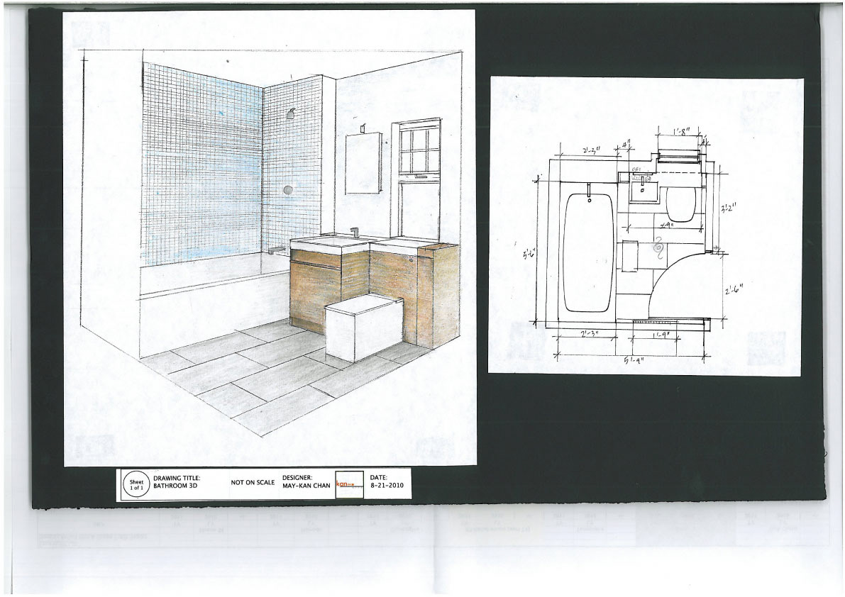 MAYKAN CHAN - Re-design London Town House Master Bathroom