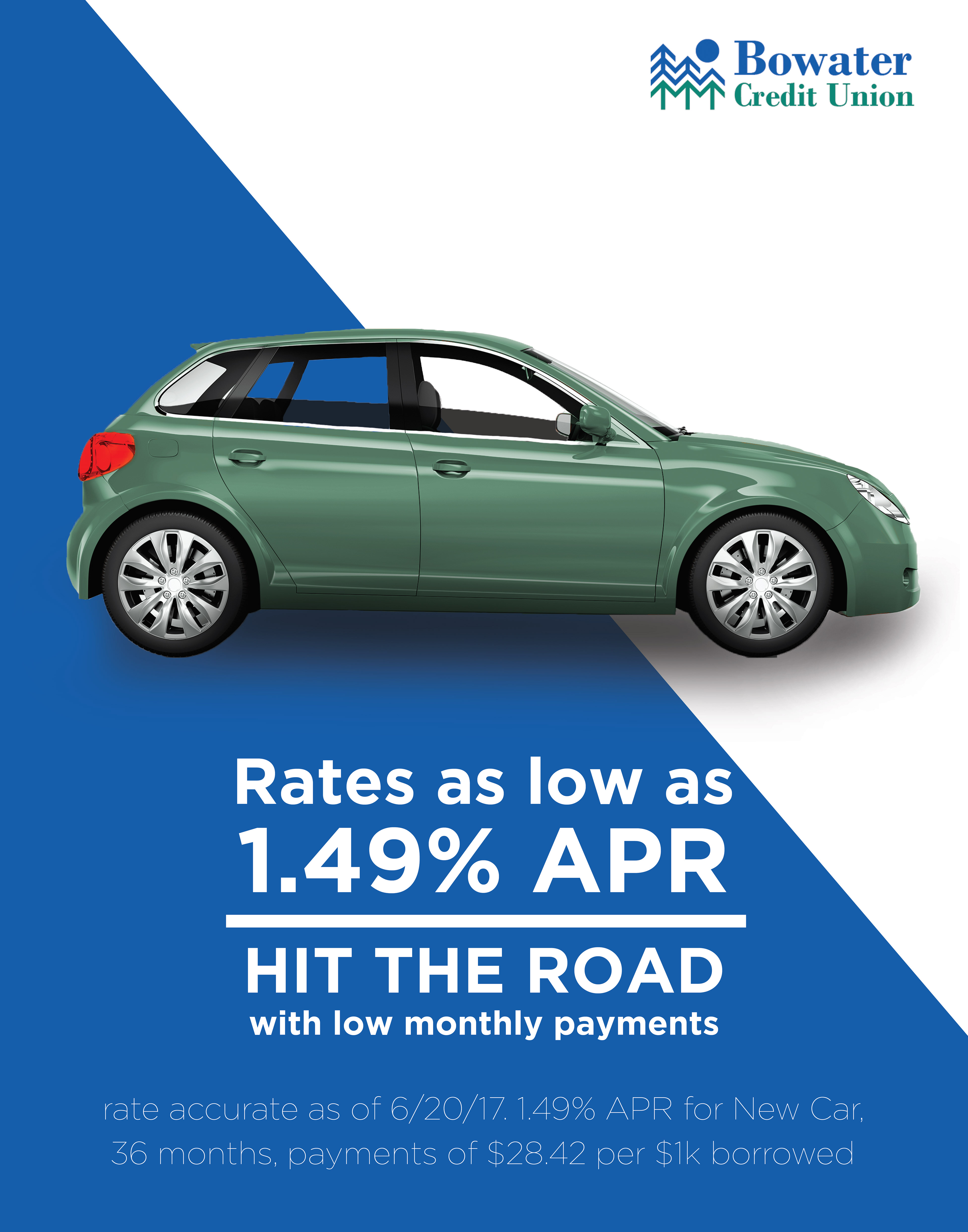 Bowater Auto Loan Ad