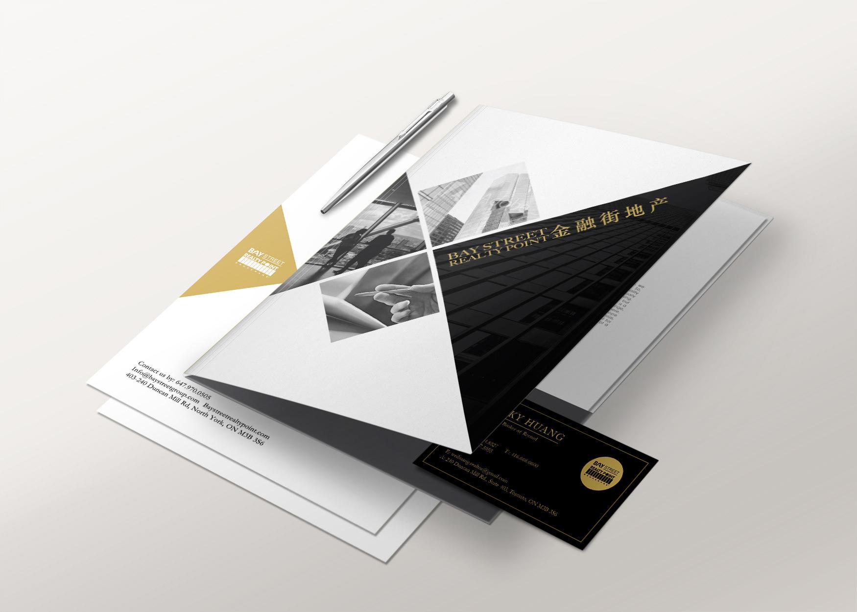 Era real estate presentation folders | realty cards printing.