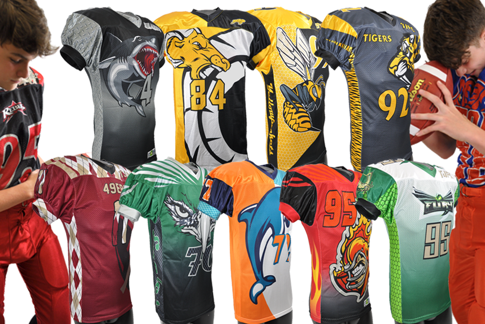 ca0fb586eef ... Football and creator of Storm Uniforms, I was involved in the creation  of thousands of custom sublimated jersey designs for youth football teams  ...