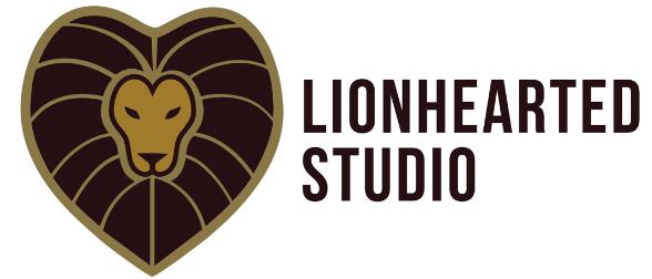 Lionhearted Studio (brand Identity Design)