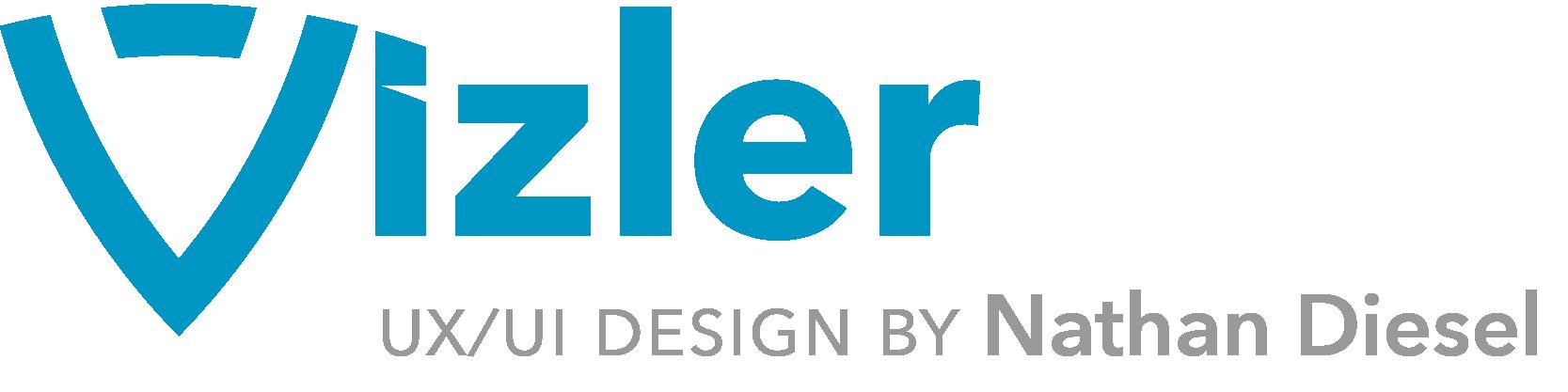 Vizler: UX/UI design by Nathan Diesel