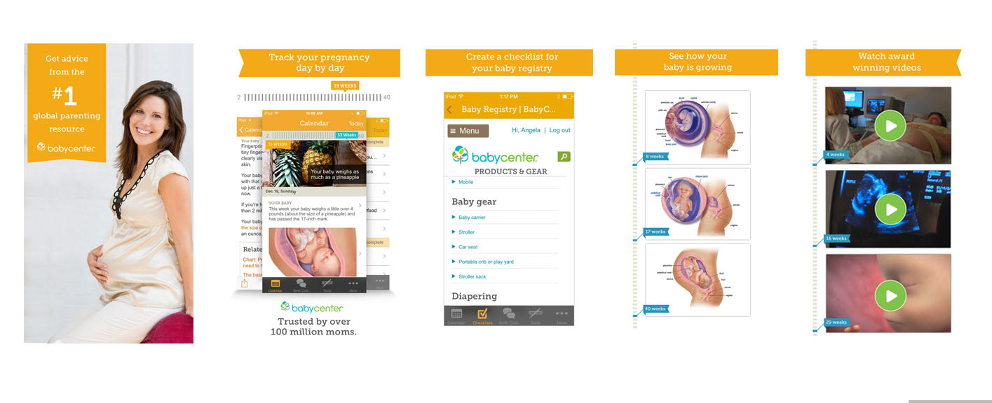Say Hello - Janine - BabyCenter App Screenshots for Iphone ...