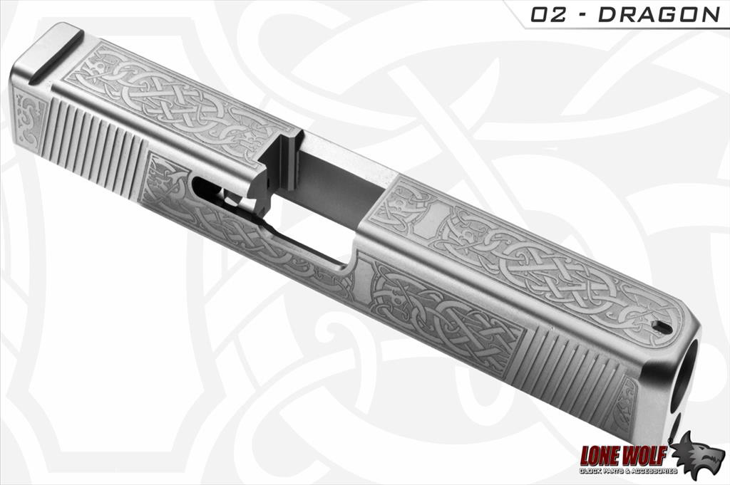 Bryant Baxter - Custom Laser Art For Glock Slides