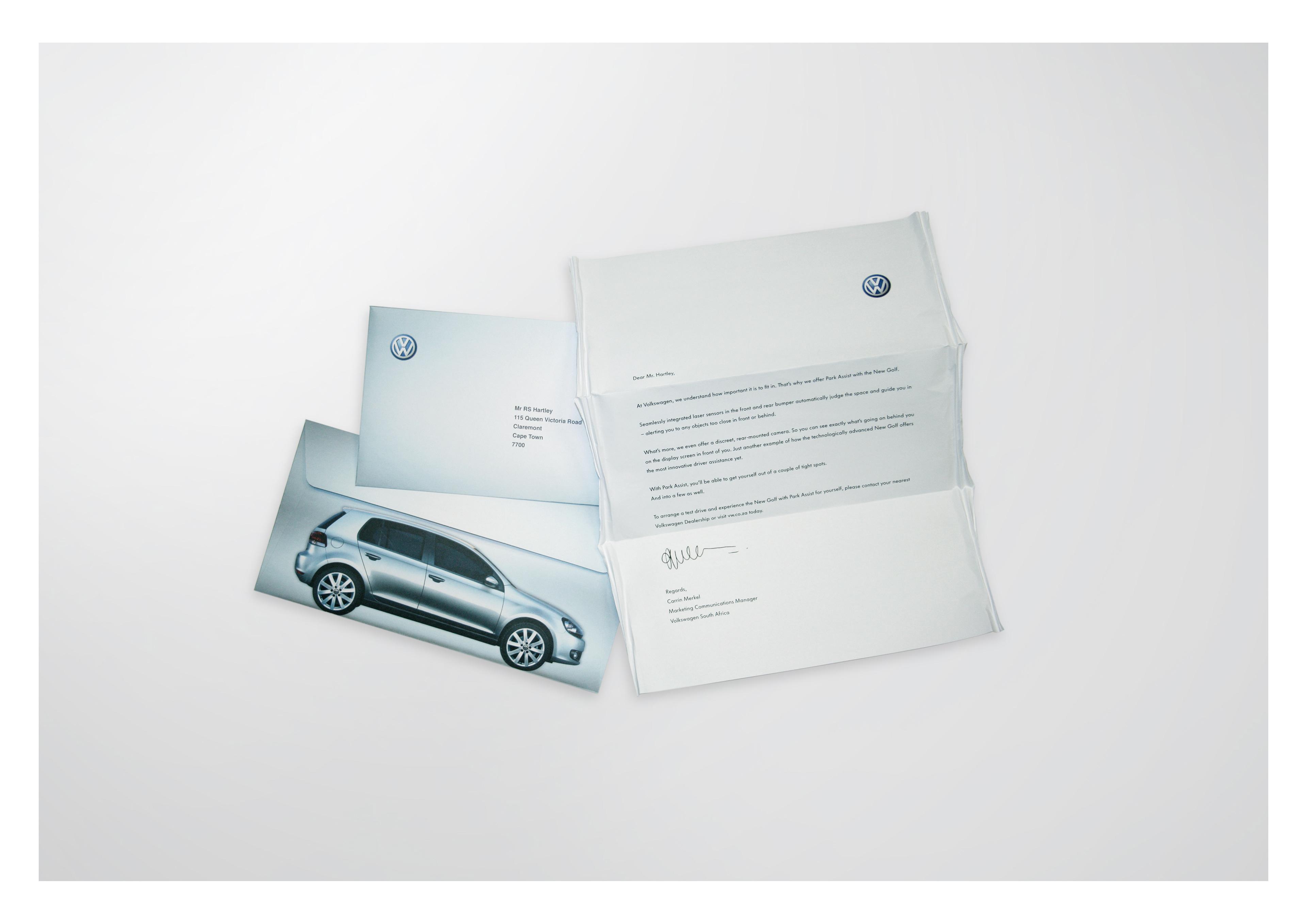 Robert Hartley - VW \'Park assist\': CRM