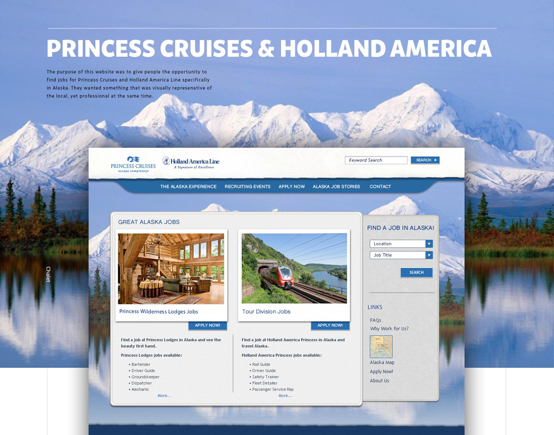 Supv, Operations (seasonal) Job at Holland America Line and Princess  Cruises Alaska and the Yukon in Skagway, AK, US | LinkedIn