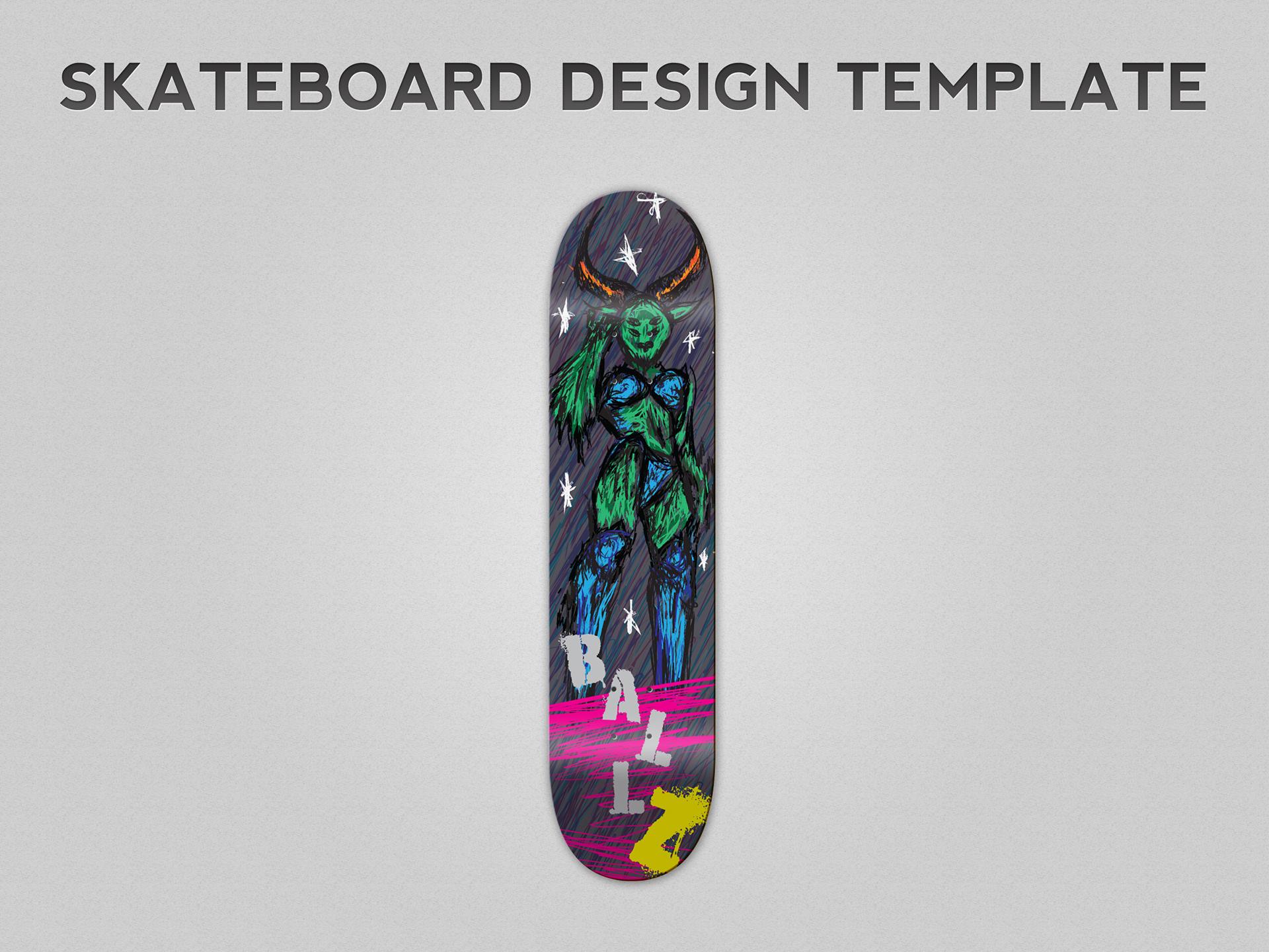 sophie hedge skateboard design