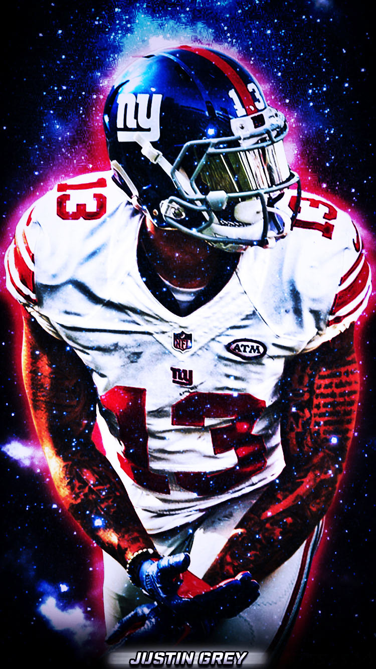 Odell Beckham Jr Phone Wallpaper Along With New York Giants 2017 Schedule