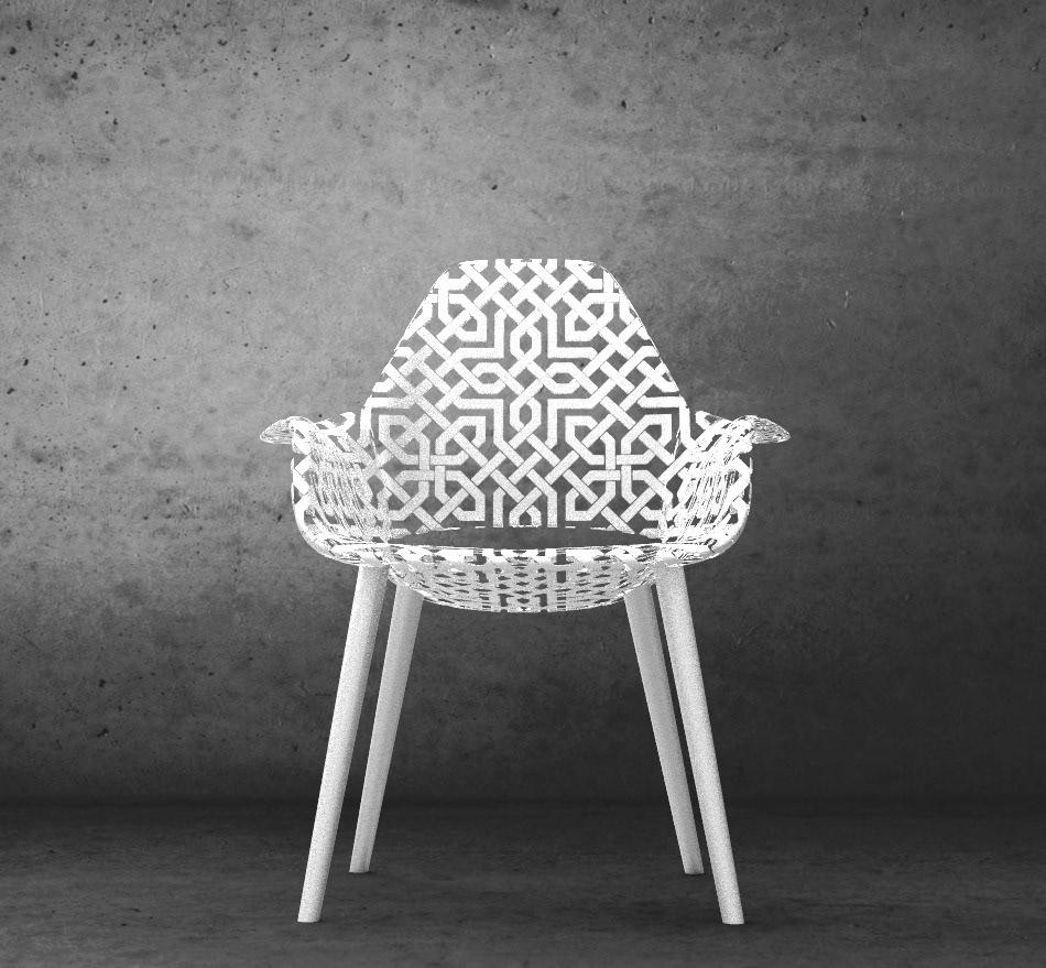 HANNES GREBIN STUDIO - Alhambra Chair