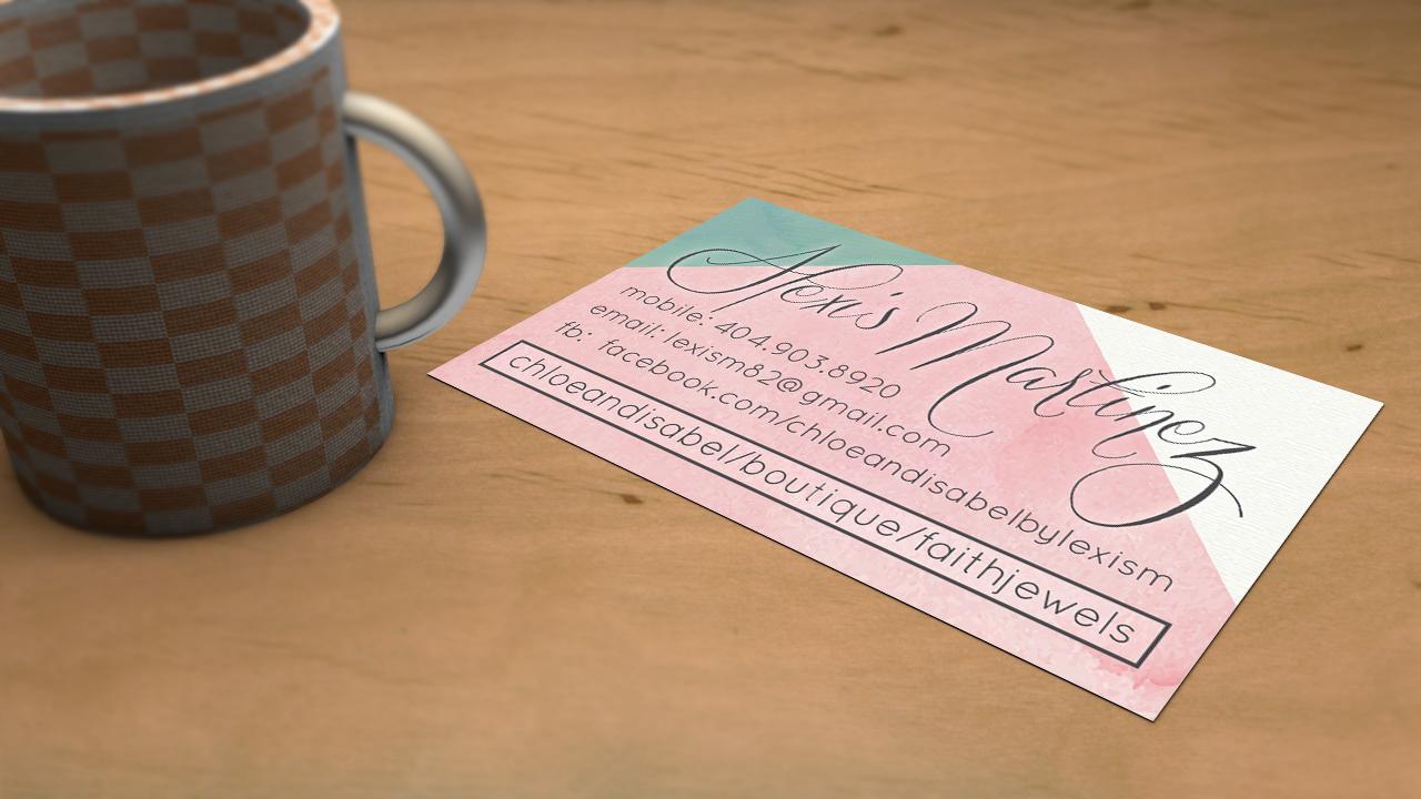 lex gee - Alexis Martinez business card