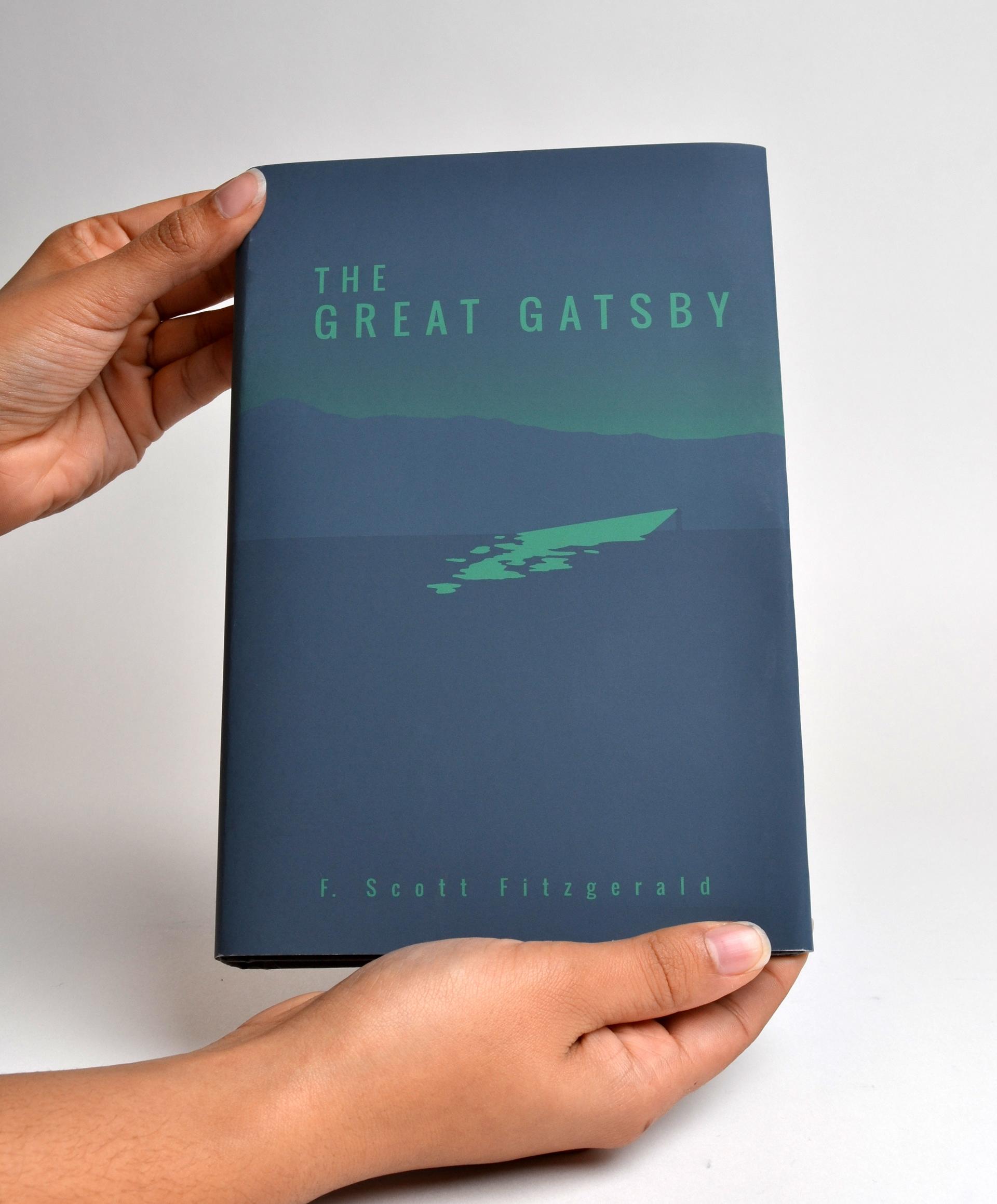 Scherry Van Kirk The Great Gatsby Cover Redesign