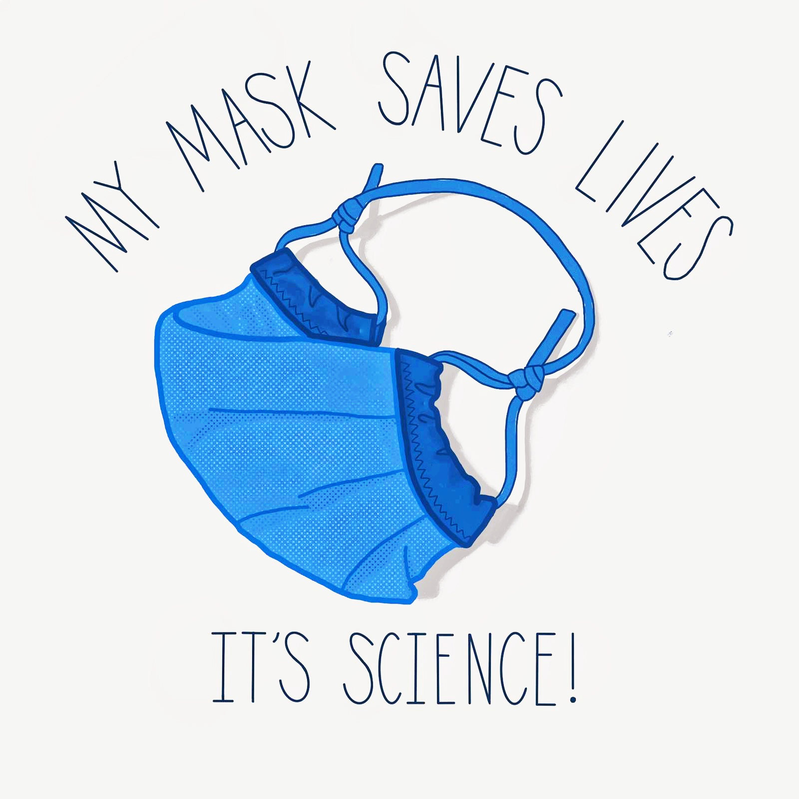 My MASK SAVES LIVES LOGO