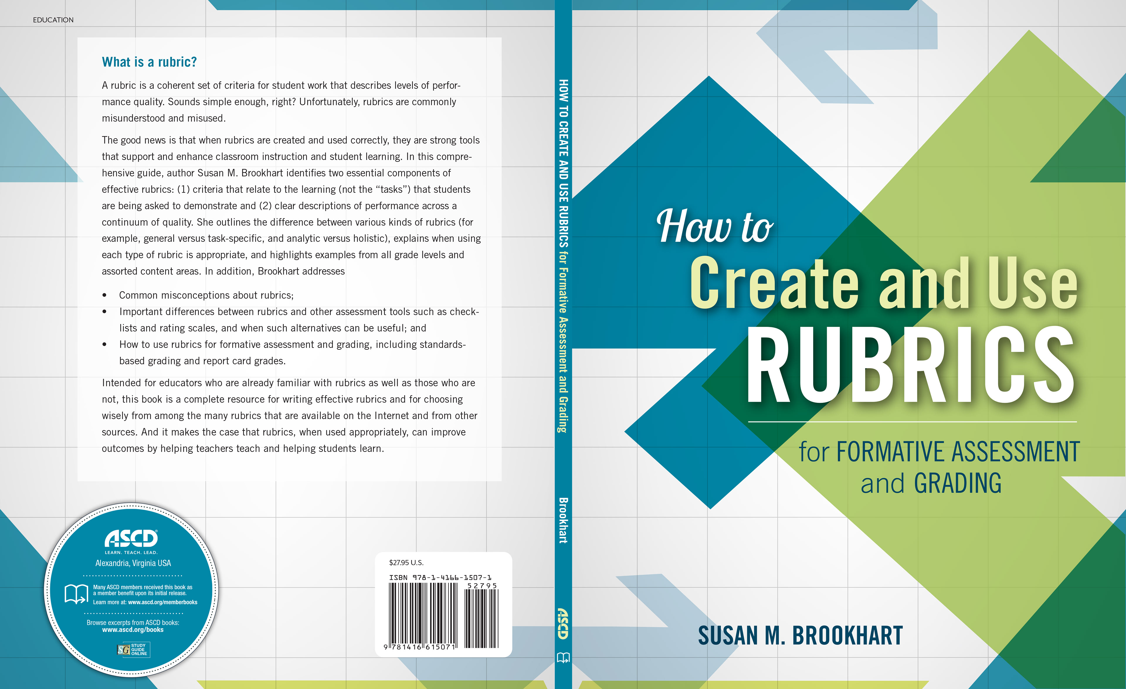 Rubric For Book Cover Design : Louise bova design how to create and use rubrics book