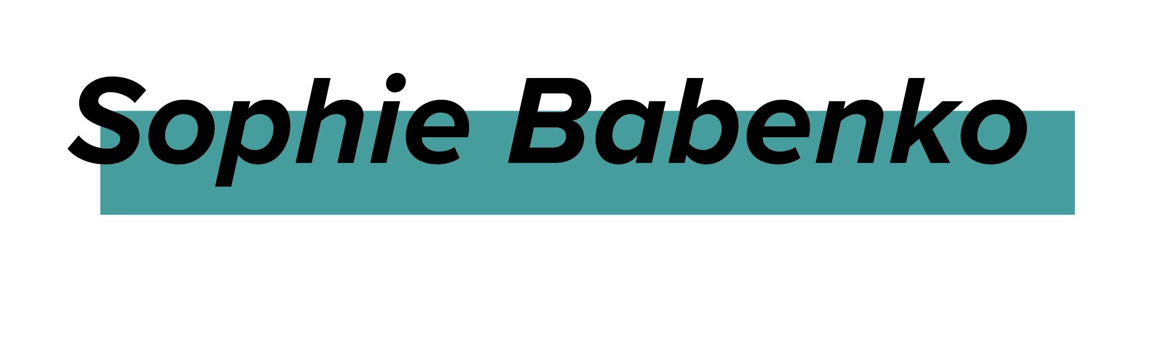 Sophie Babenko