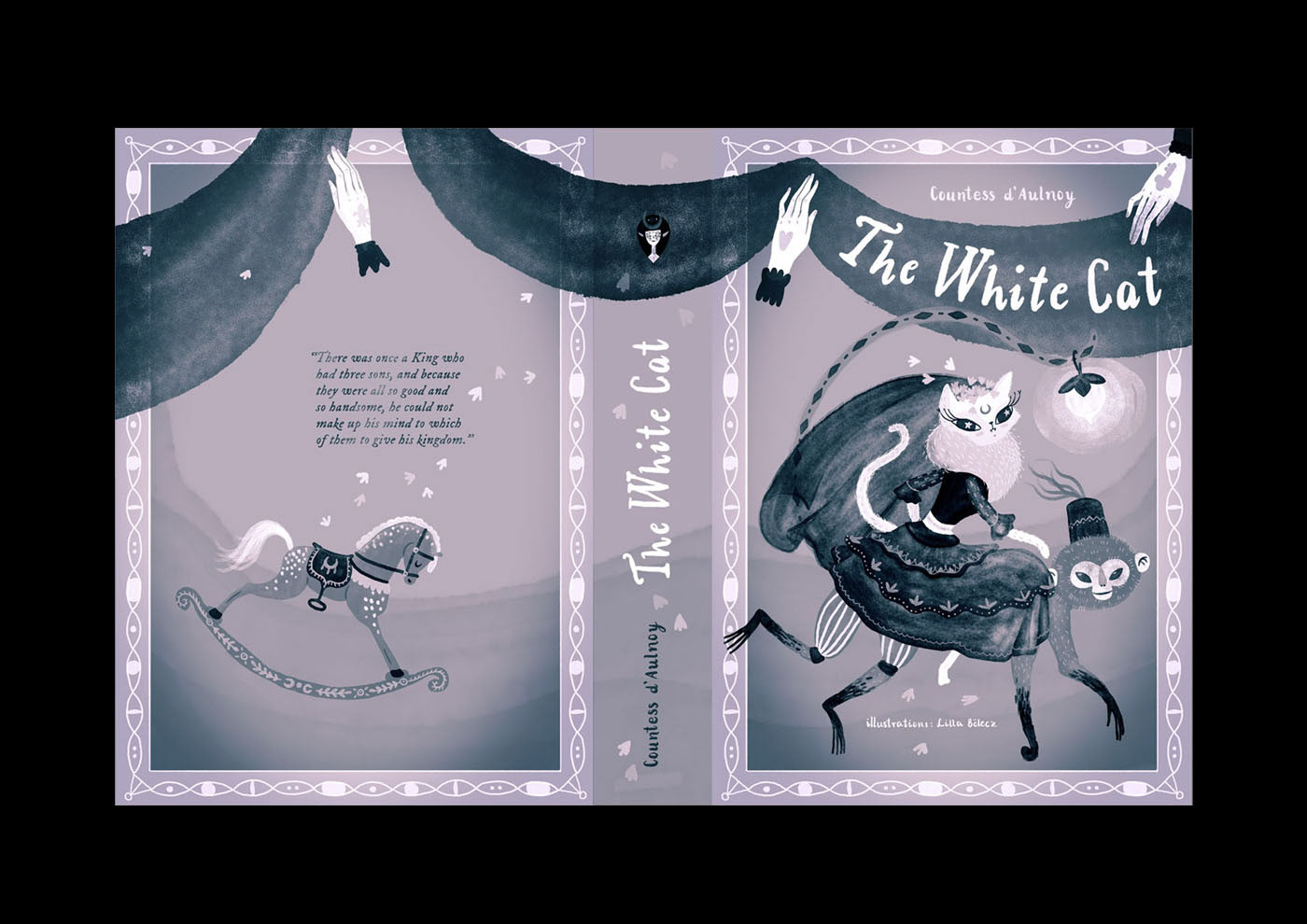 The White Cat Cover Ilration