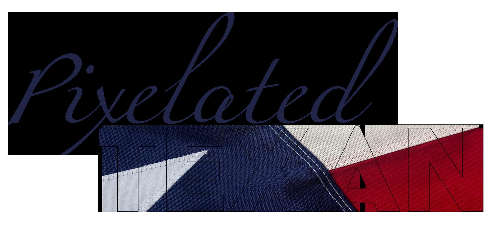 Pixelated Texan