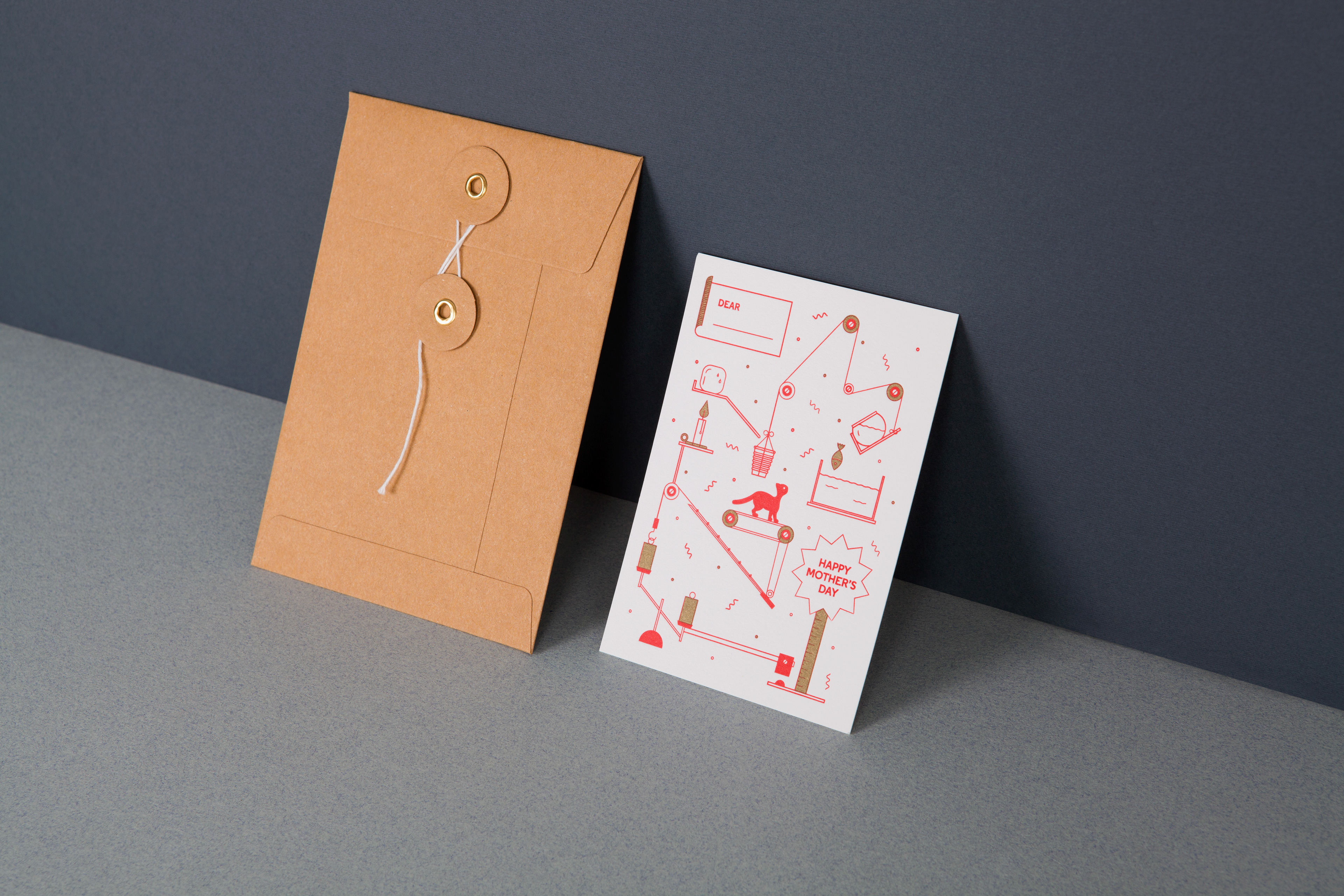 Mayra Monobe Design Art Direction Machine Series Greeting Cards