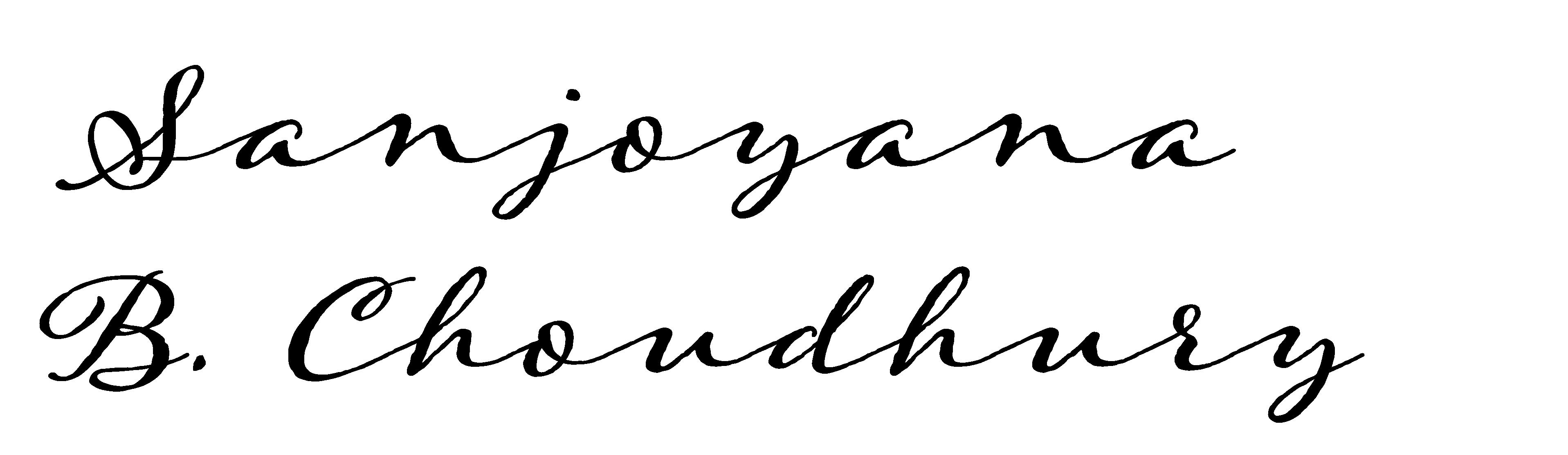 SANJOYANA  CHOUDHURY