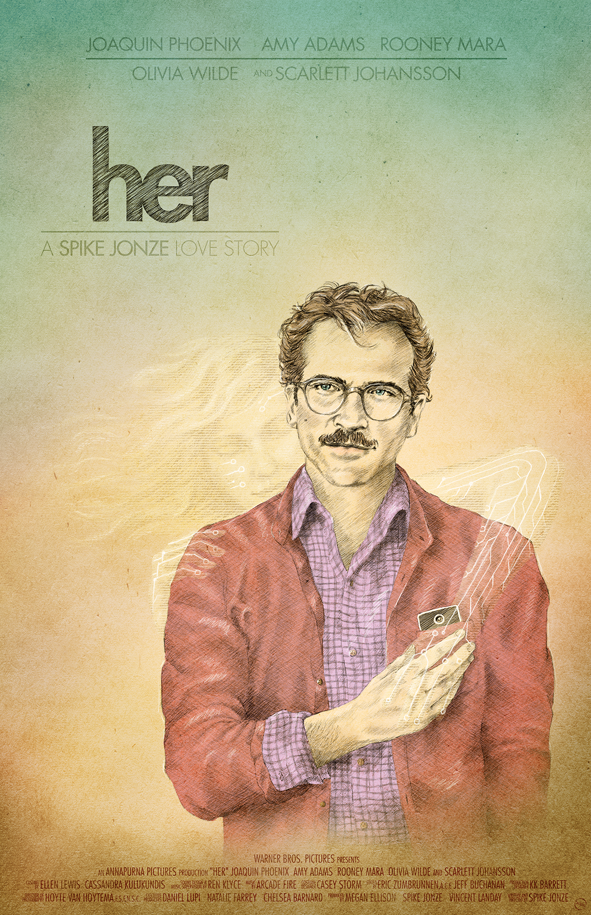 Rachael Sinclair - Her - A Spike Jonze Love Story