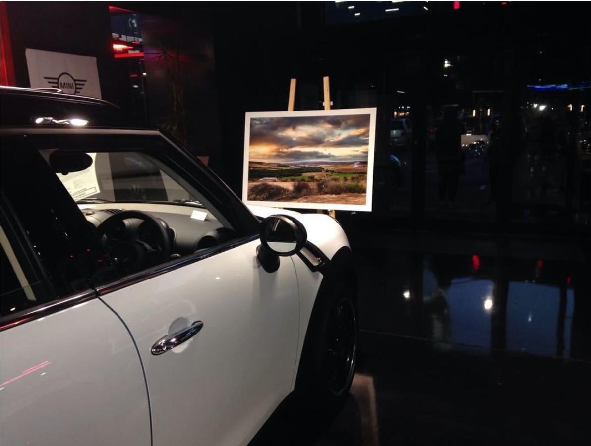Zak Dylan Morris Auto Atlantic Mini Cooper Exhibition Work