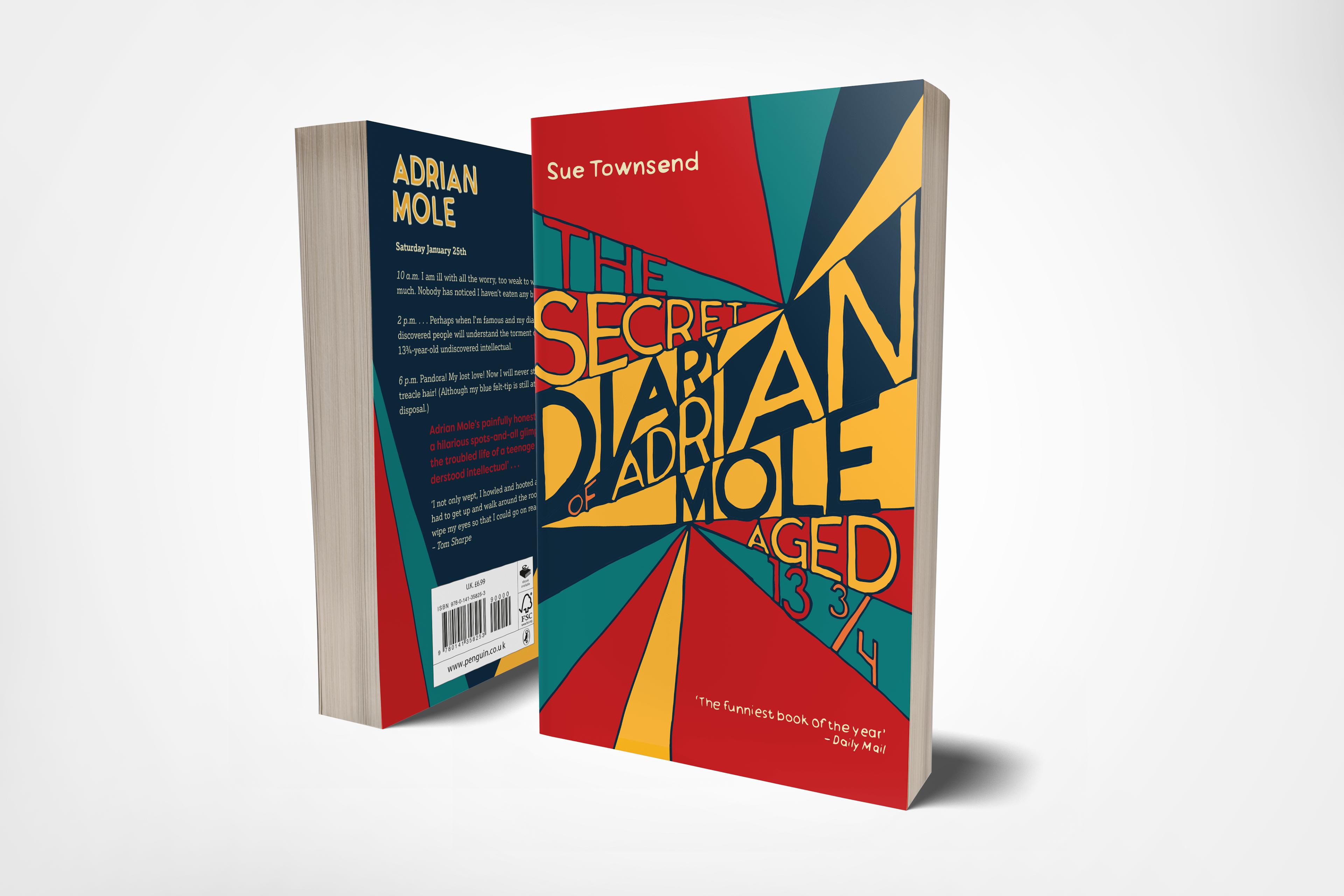 Book Cover Graphic Design Project : Klara block penguin book cover design