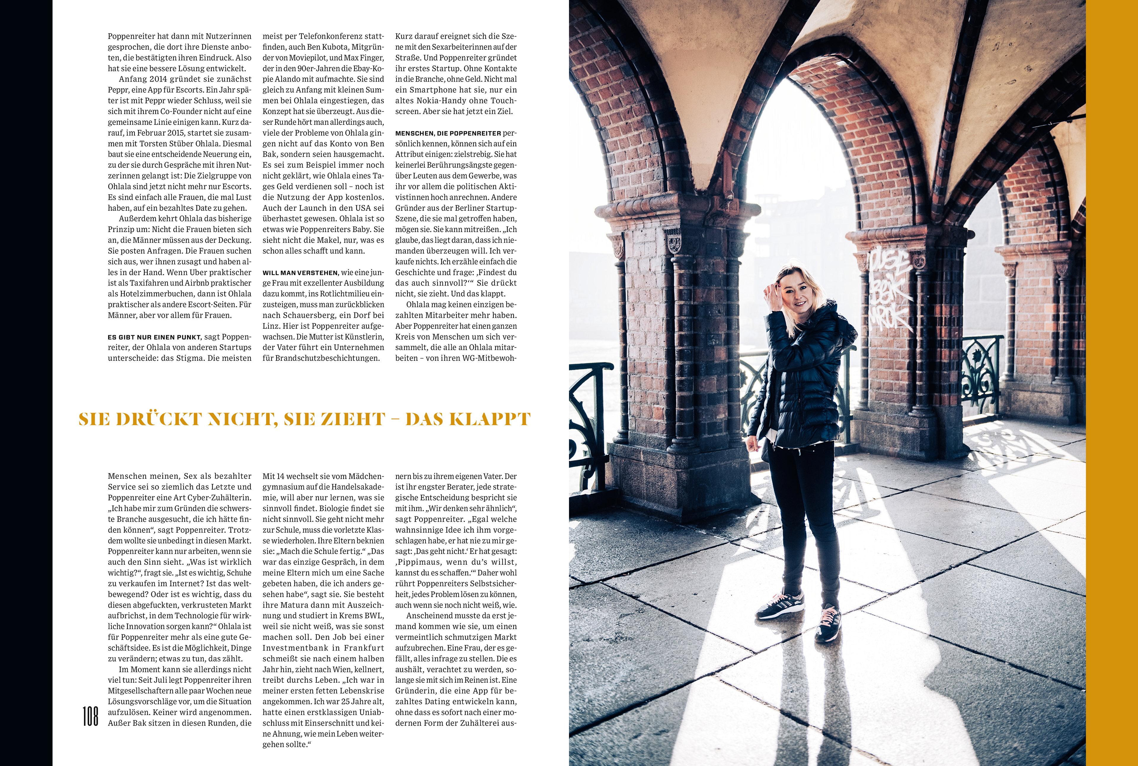Rodolfo França - WIRED Germany\'s spreads