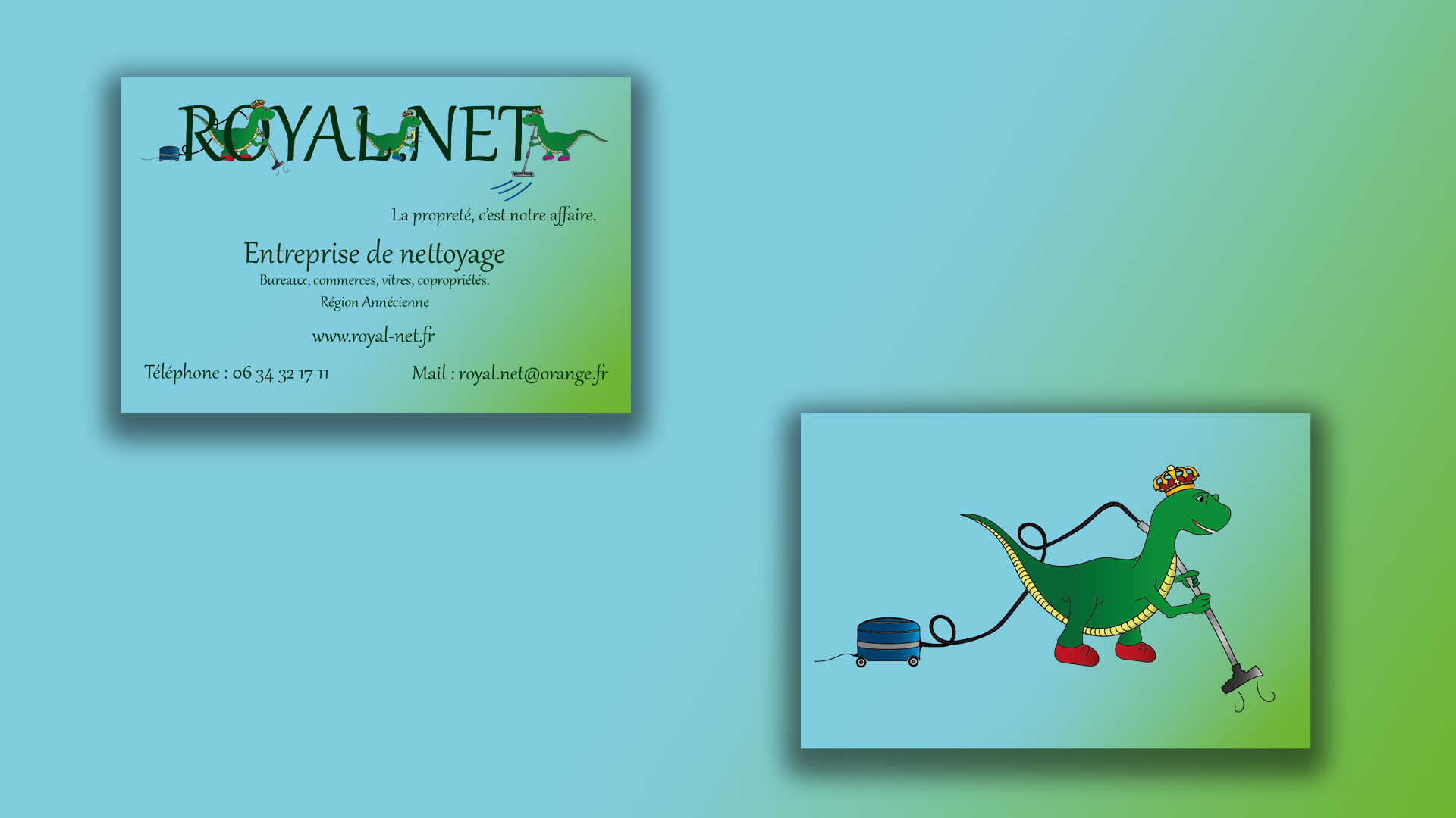 Creation De Cartes Visite LC Graphic Designer