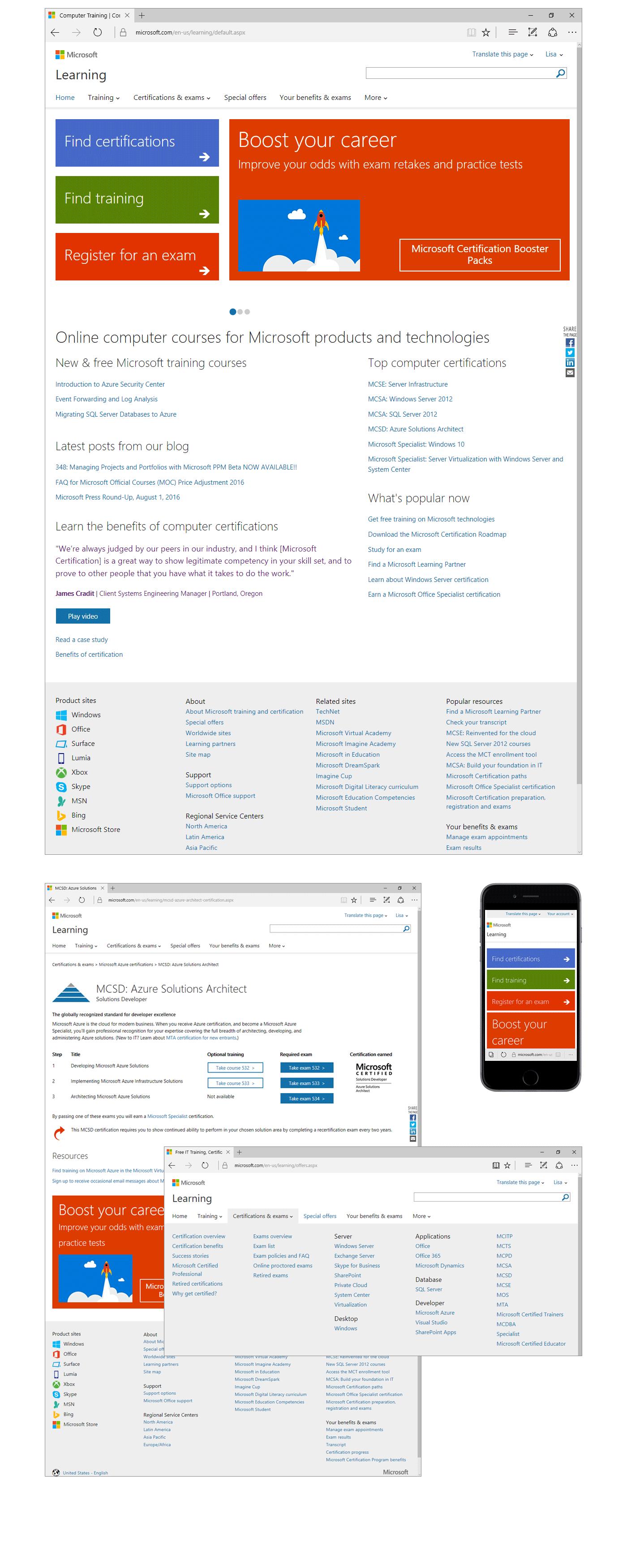 Lisa Lane Microsoft Certification Program