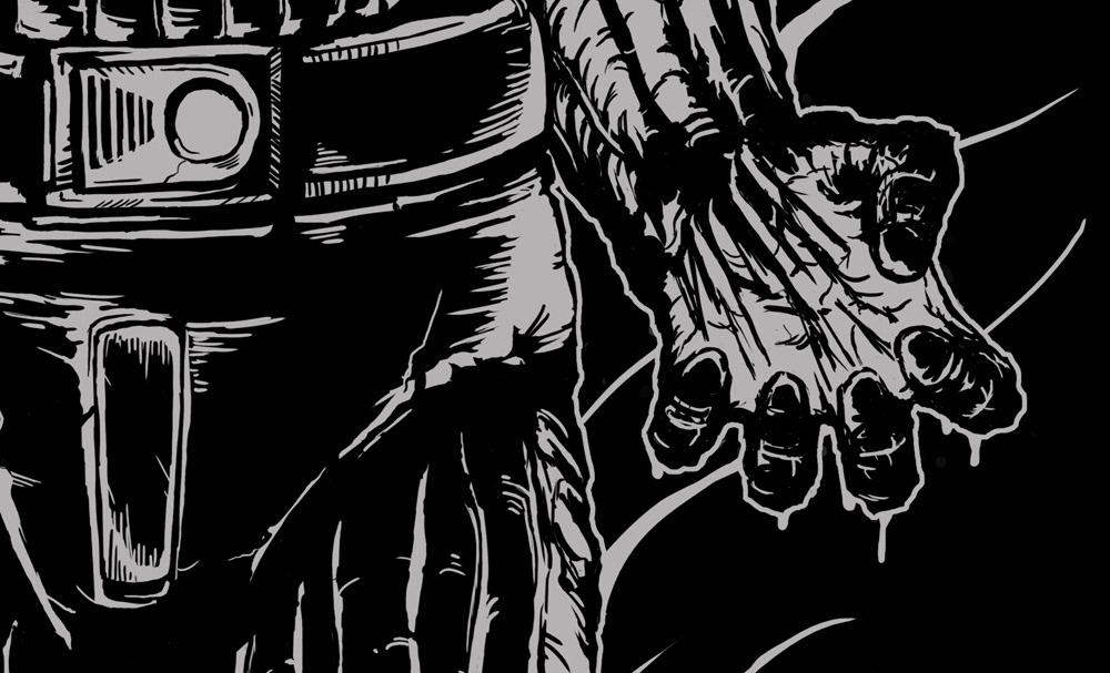 Hyper Beast Fullprint Hoodie: Ongoing Illustrations 2013